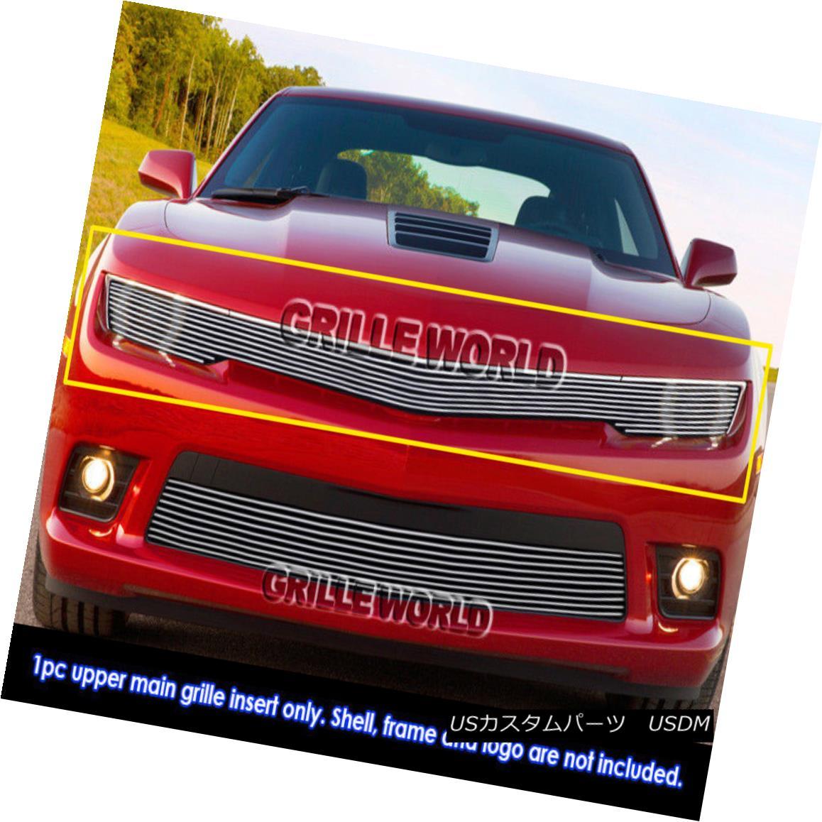 グリル Fits 2014-2015 Chevy Camaro RS Package LS/LT Phantom Billet Grille フィット2014-2015チェビーカマロRSパッケージLS / LTファントムビレットグリル