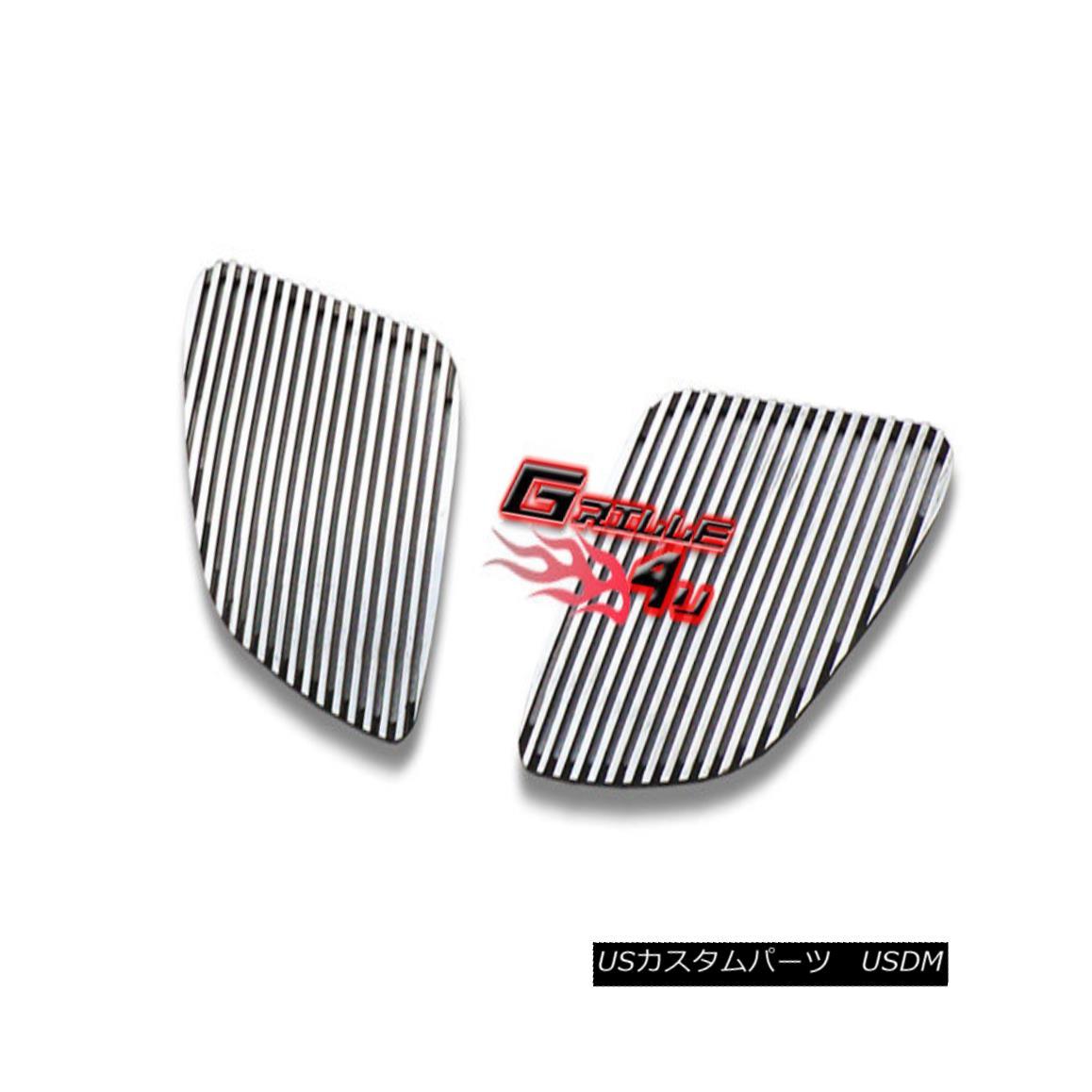 グリル Customized For 05-08 Pontiac G6 Perimeter Premium Grille Insert 05-08ポンティアックG6ペリメータープレミアムグリルインサート用にカスタマイズ