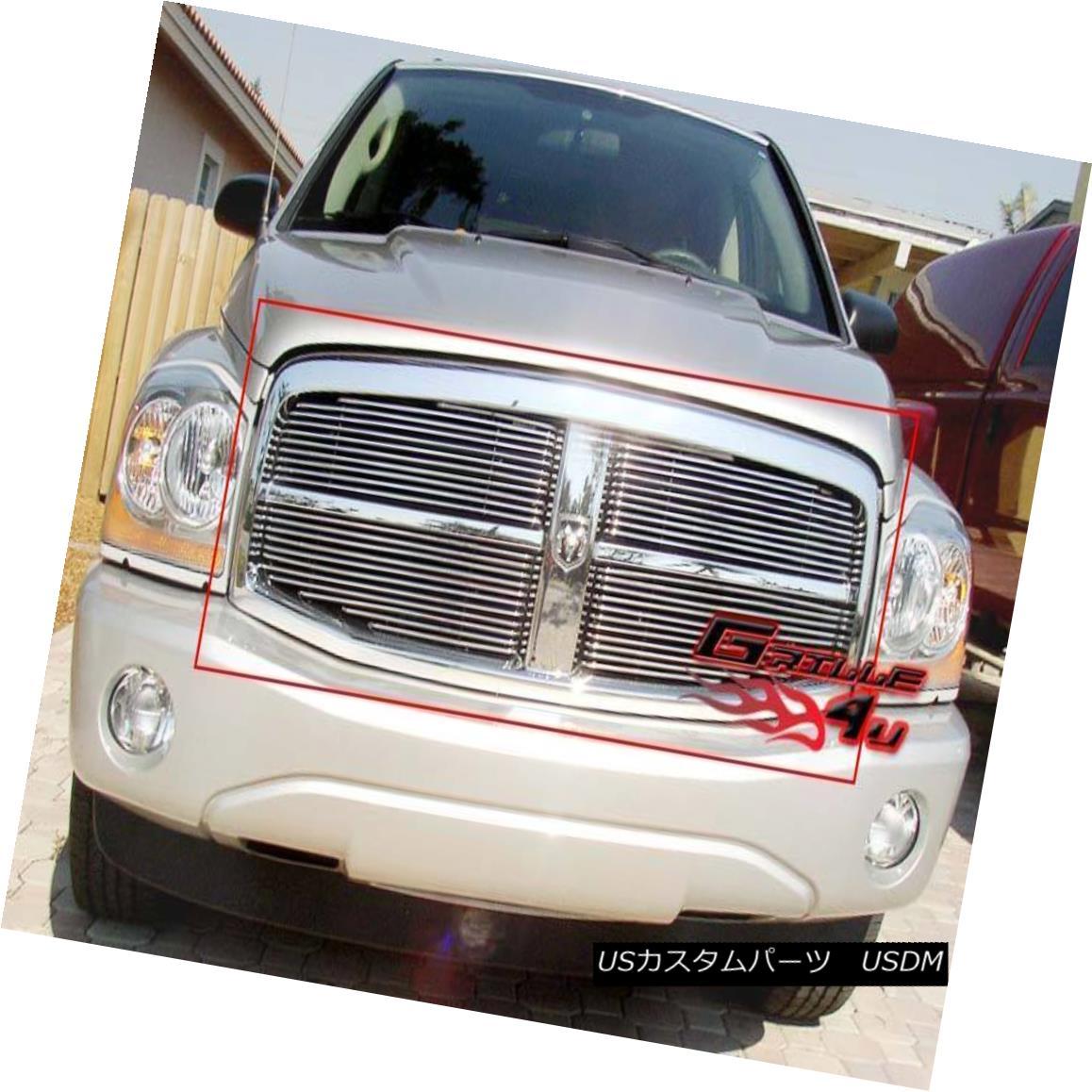 グリル Fits 2004-2006 Dodge Durango Billet Main Upper Grille Insert Dodge Durango Billetメインアッパーグリルインサート
