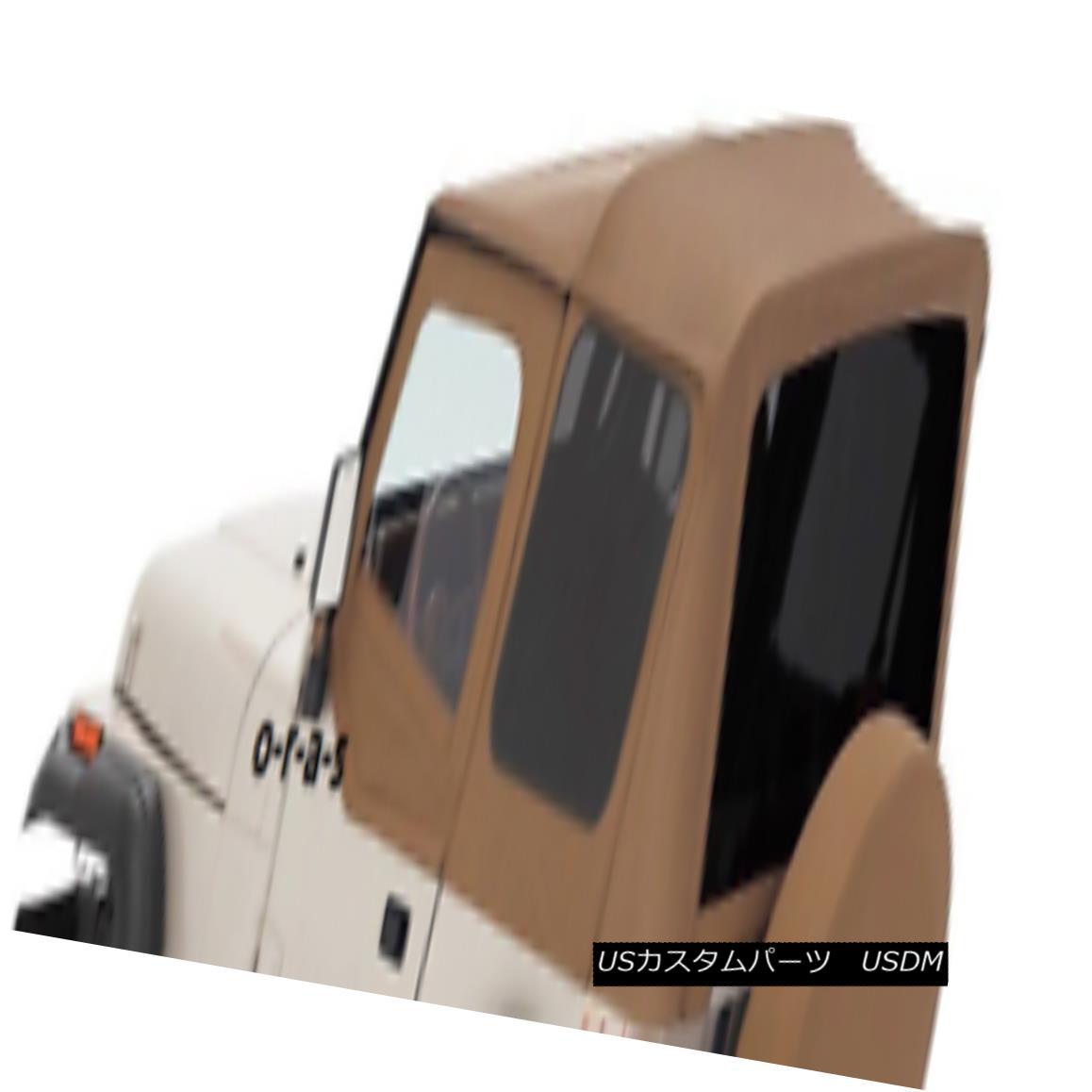 幌・ソフトトップ SPICE 88-95 soft top Jeep Wrangler FOR HALF DOORS by R 99417 SPICE 88-95ソフトトップジープラングラーハーフドア用R 99417