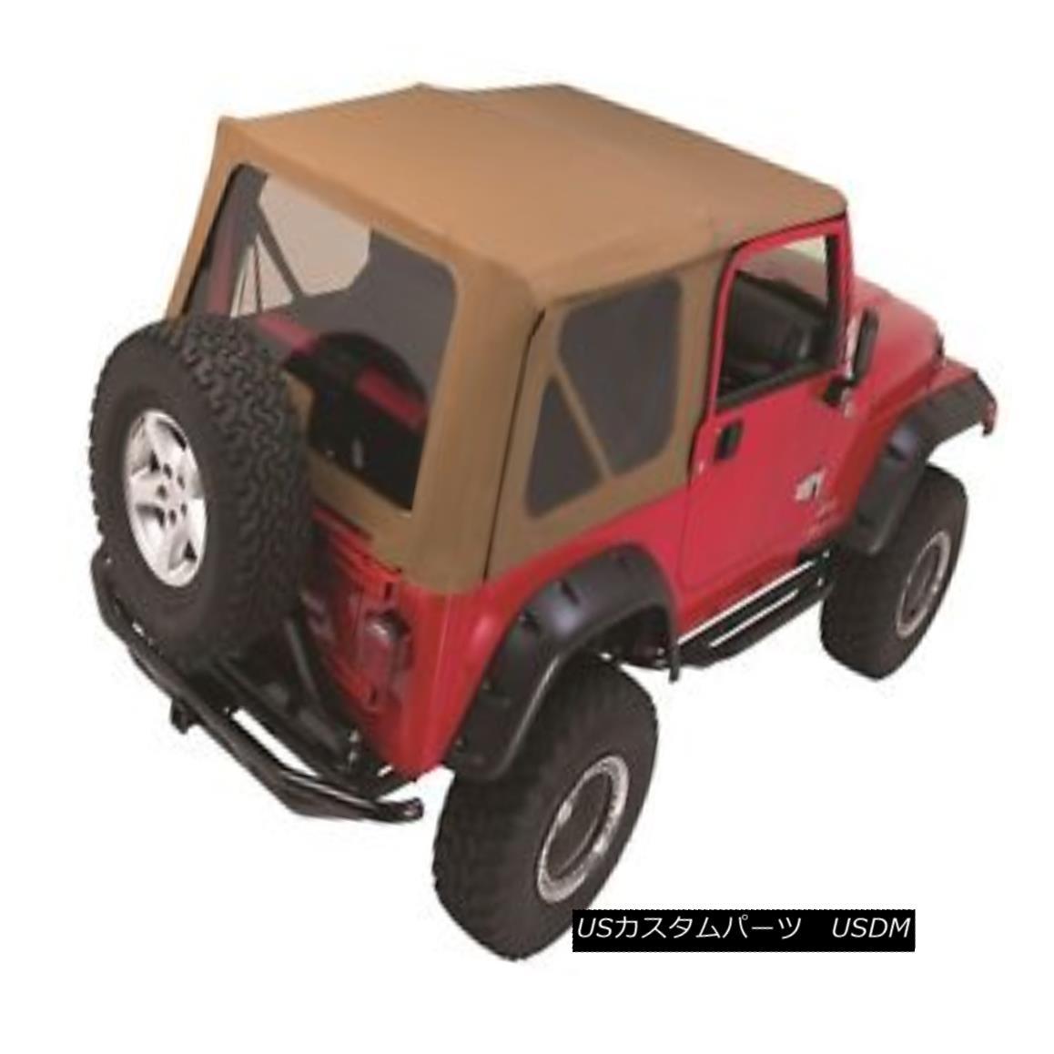 幌・ソフトトップ Rampage 68317 Complete Soft Top Kit Fits 97-06 Wrangler (LJ) Wrangler (TJ) Rampage 68317完全なソフトトップキットが97-06 Wrangler(LJ)Wrangler(TJ)に適合