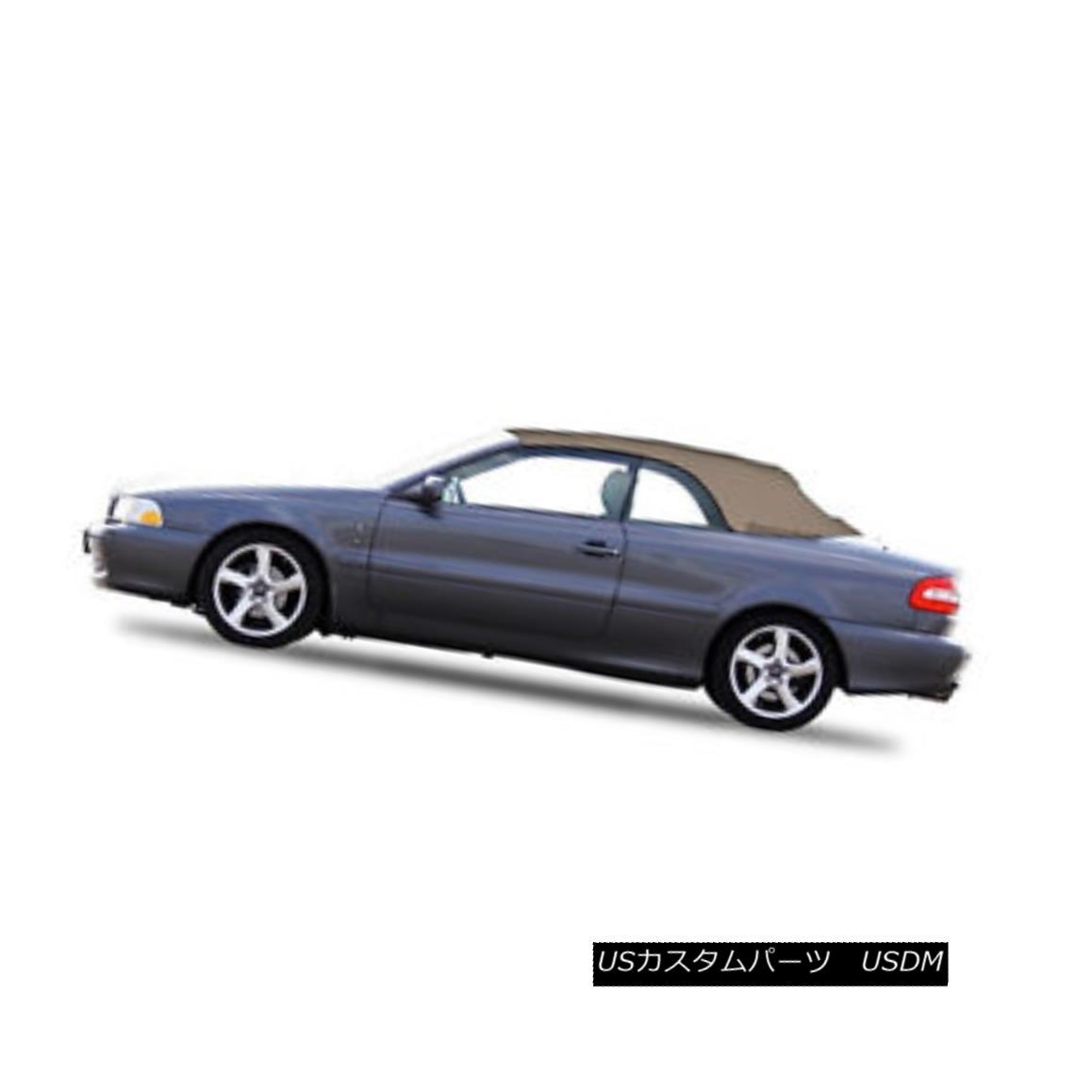 幌・ソフトトップ VOLVO C70 Convertible Soft Top Replacement & Glass window 1999-06 Beige Stayfast VOLVO C70コンバーチブルソフトトップ交換& ガラスの窓1999-06 Beige Stayfast