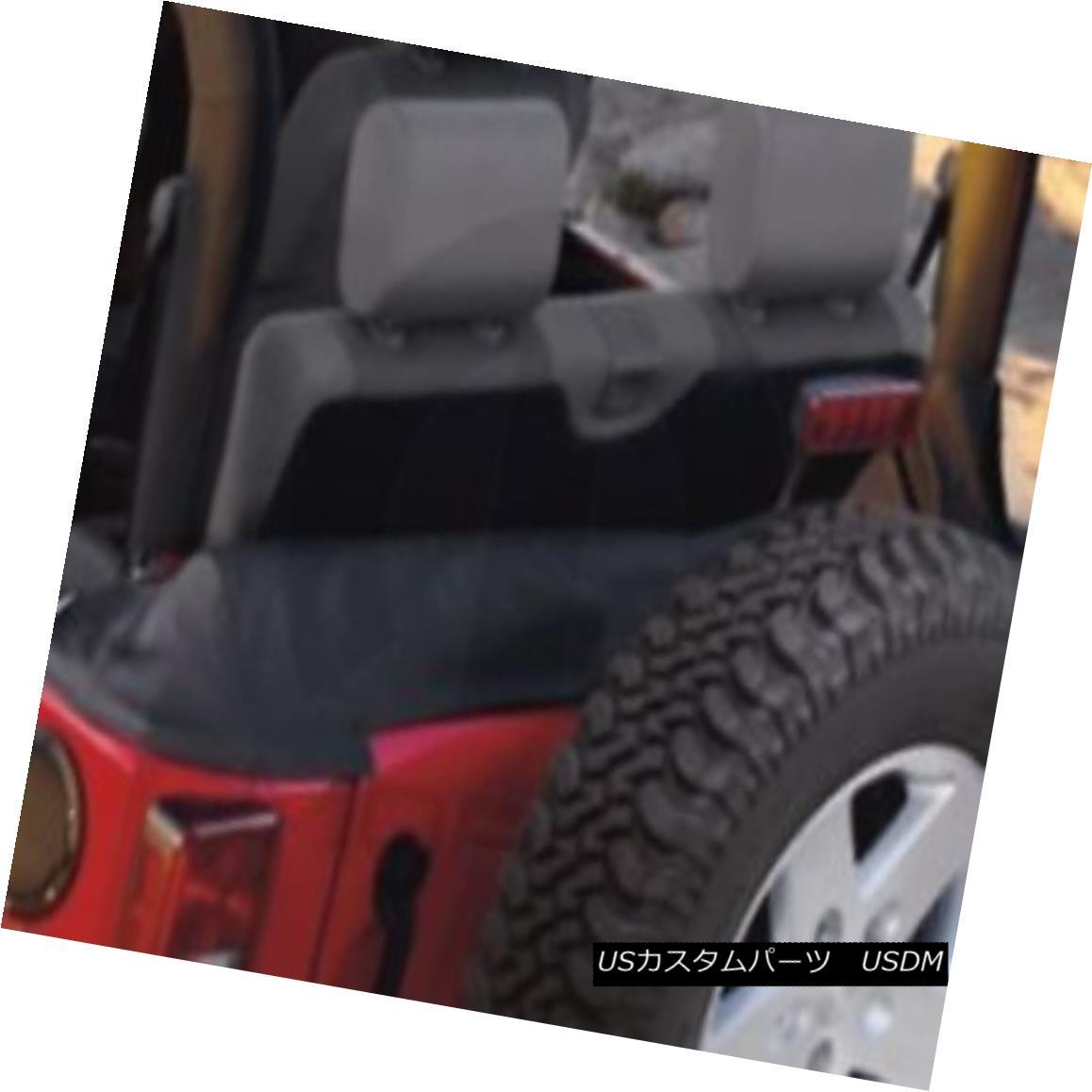 幌・ソフトトップ 07-10 Jeep Wrangler Soft Top Boot Black Mopar Factory Oem New 82209912 07-10ジープラングラーソフトトップブーツブラックMoparファクトリーOem New 82209912