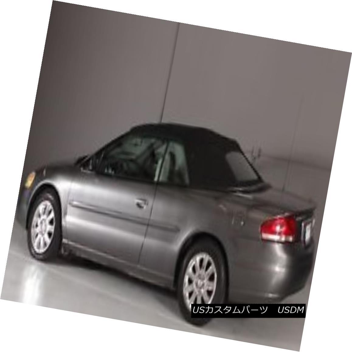 幌・ソフトトップ 1996-2006 NEW Chrysler Sebring Convertible Soft Top & Heated Glass window Black 1996-2006 NEWクライスラーセブリングコンバーチブルソフトトップ& 加熱ガラス窓黒