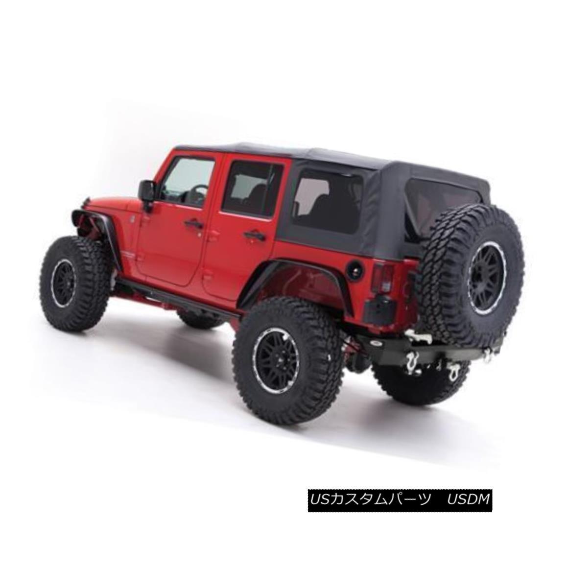 幌・ソフトトップ Jeep Wrangler JK Soft Top 10-17 4 DR OEM Replacement Black Diamond 9085235 ジープラングラーJKソフトトップ10-17 4 DR OEM交換ブラックダイヤモンド9085235