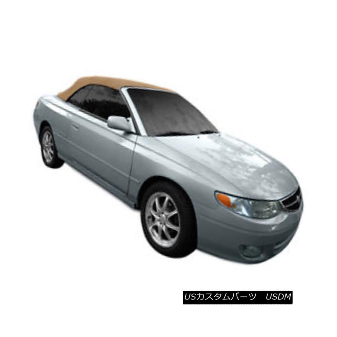 幌・ソフトトップ Toyota Solara Convertible Soft Top With Heated Glass Window 1999-2003 Tan Cloth 暖かいガラスの窓付きトヨタソーララコンバーチブルソフトトップ1999-2003 Tan Cloth