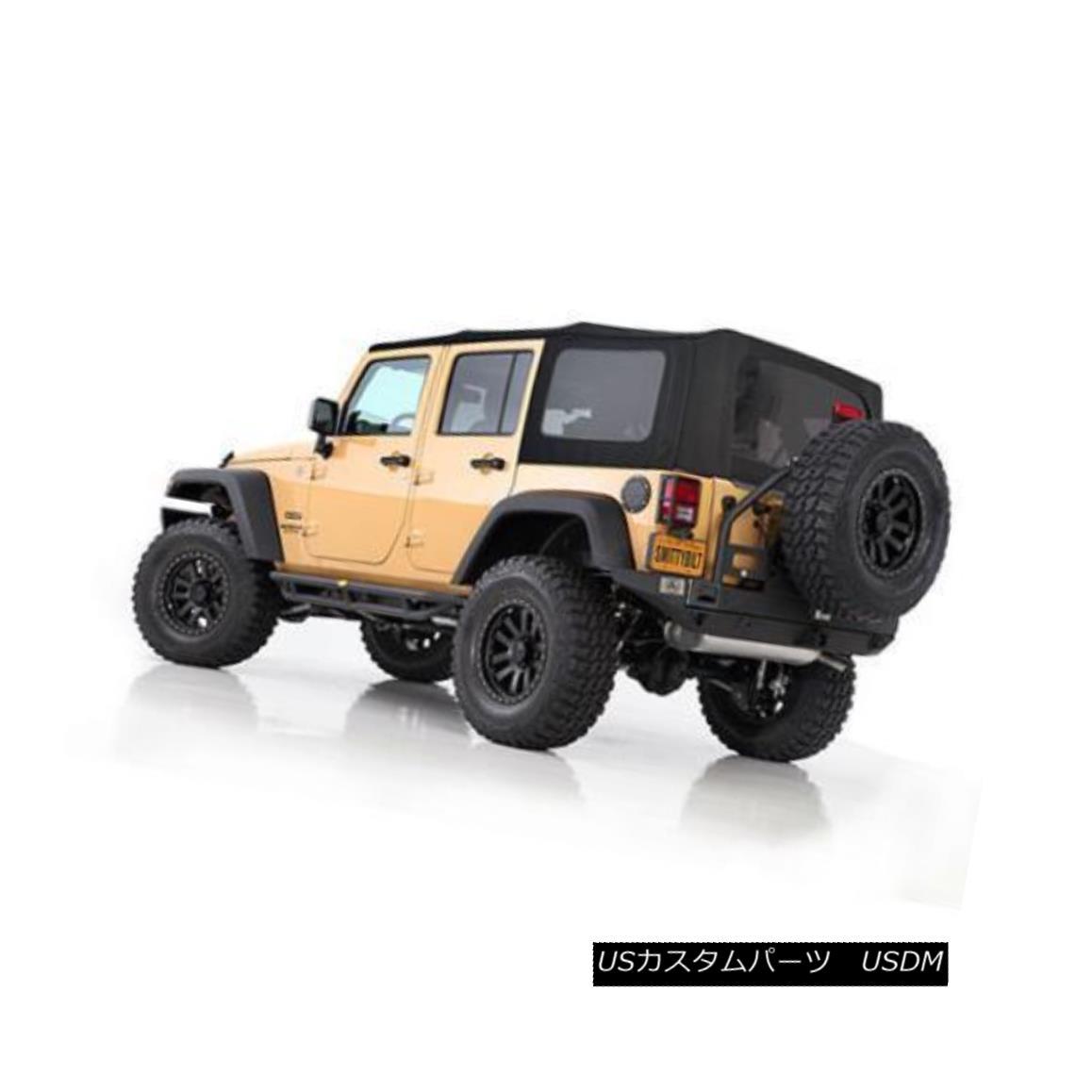 幌・ソフトトップ Jeep Wrangler JK Soft Top Premium 10-16 4 DR OEM Replacement Black 9086235 ジープラングラーJKソフトトッププレミアム10-16 4 DR OEM交換用ブラック9086235
