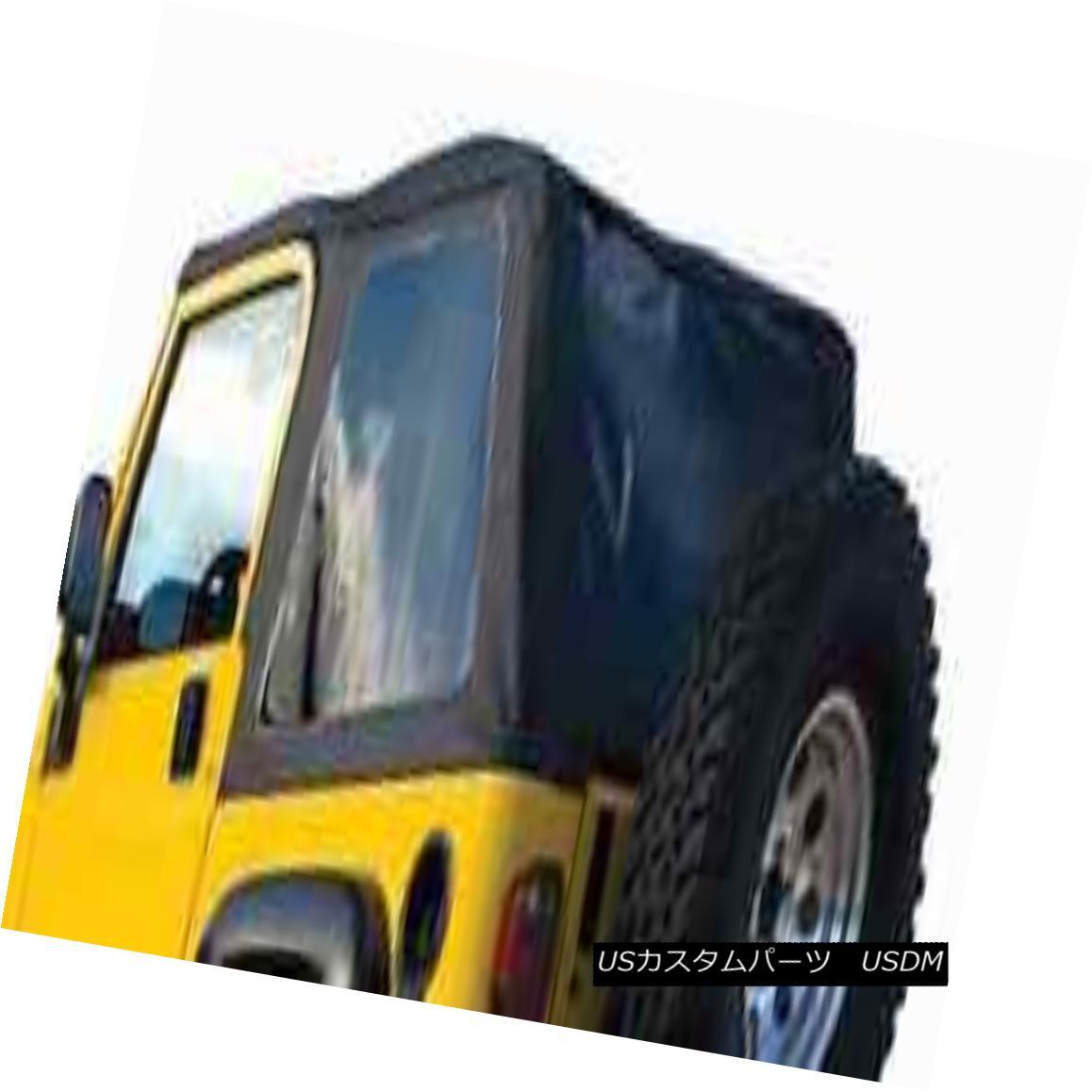 幌・ソフトトップ Rampage 109517 Frameless Trail Soft Top Spice for 1997-2006 Jeep Wrangler TJ 暴れ109517フレームレストレイルソフトトップスパイス1997-2006ジープラングラーTJ