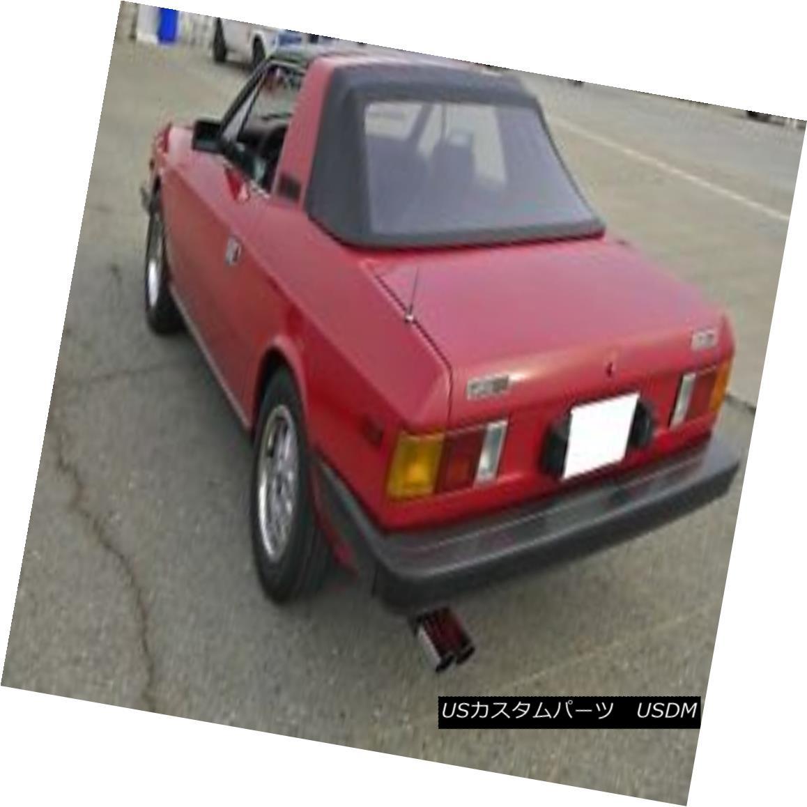 幌・ソフトトップ Lancia Beta Zagato 1979 1980 1981 1982 Convertible Soft Top Black vinyl Lancia Beta Zagato 1979 1980 1981 1982コンバーチブルソフトトップブラックビニール