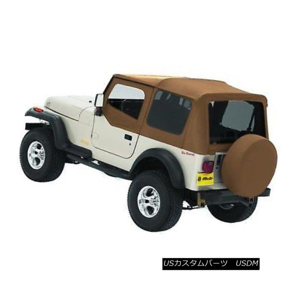 幌・ソフトトップ Bestop 51120-37 Soft Top For 88-95 Jeep Wrangler (YJ) Bestop 51120-37ソフトトップ88-95ジープラングラー(YJ)用
