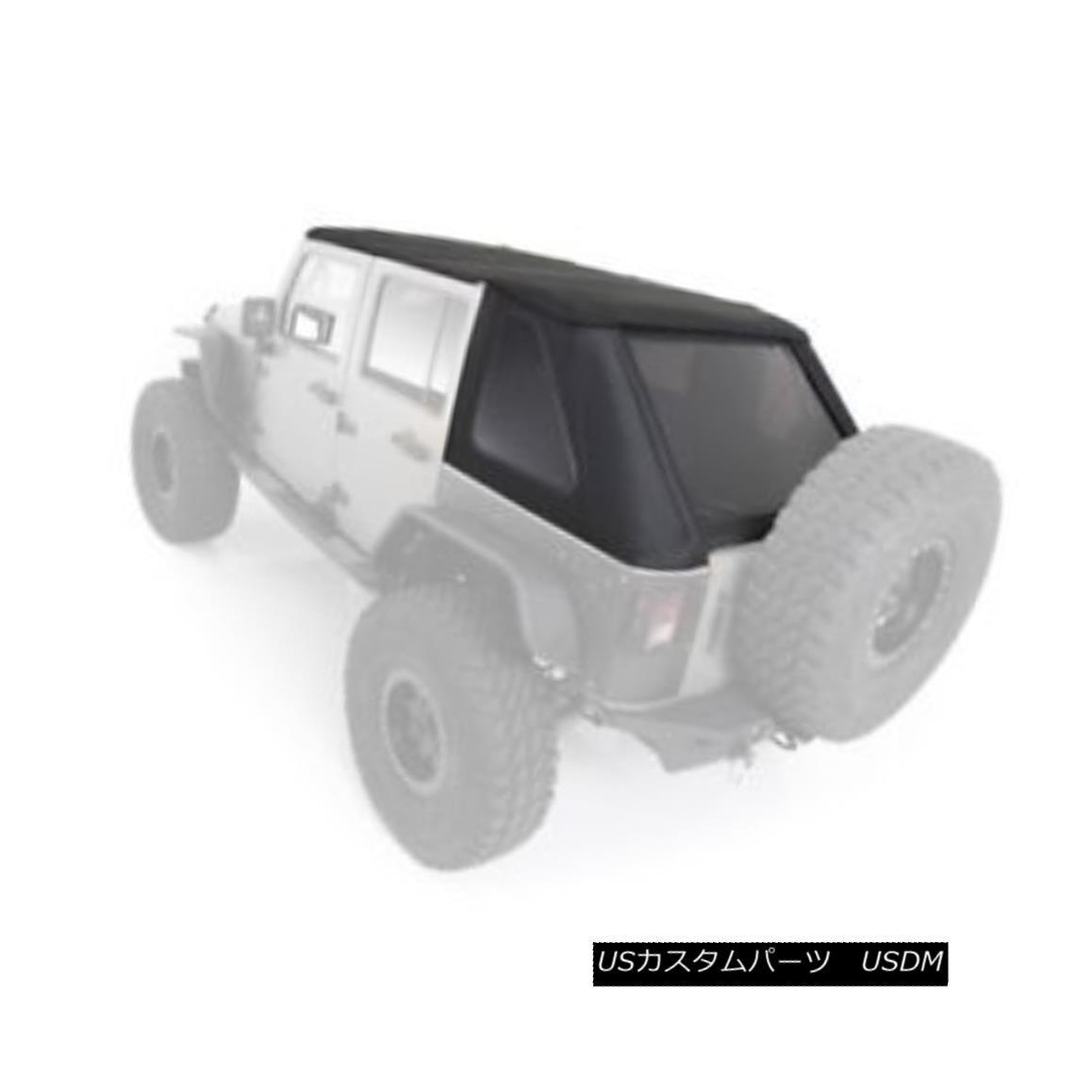 幌・ソフトトップ Smittybilt 9083235 Bowless Combo Soft Top For 2010-2015 Jeep JK Wrangler Smittybilt 9083235 Bowless Comboソフトトップ2010-2015 Jeep JK Wrangler