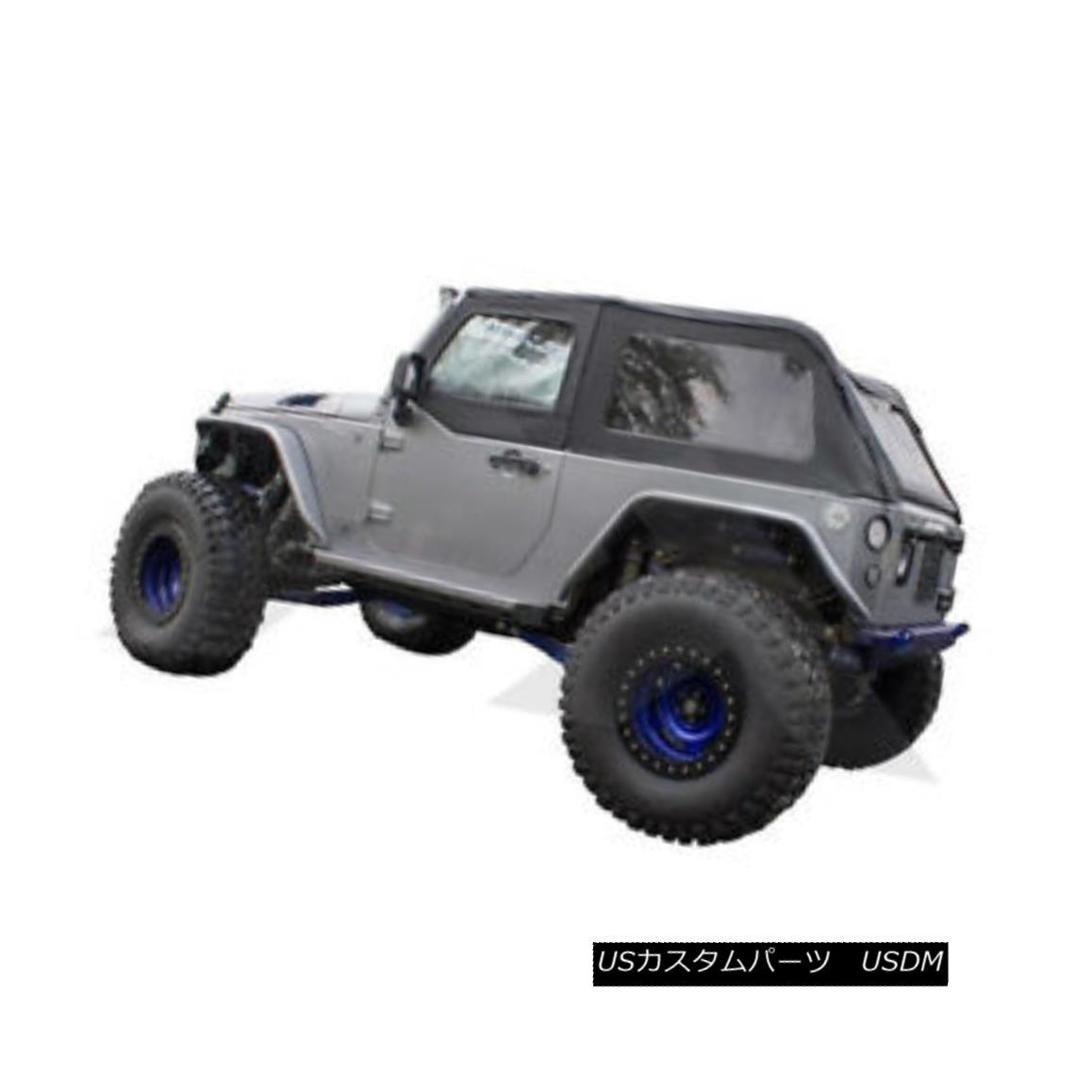 幌・ソフトトップ Bowless Soft Top Black Diamond Jeep Wrangler JK 2007-2016 BRT20035T ボウレスソフトトップブラックダイヤモンドジープラングラーJK 2007-2016 BRT20035T