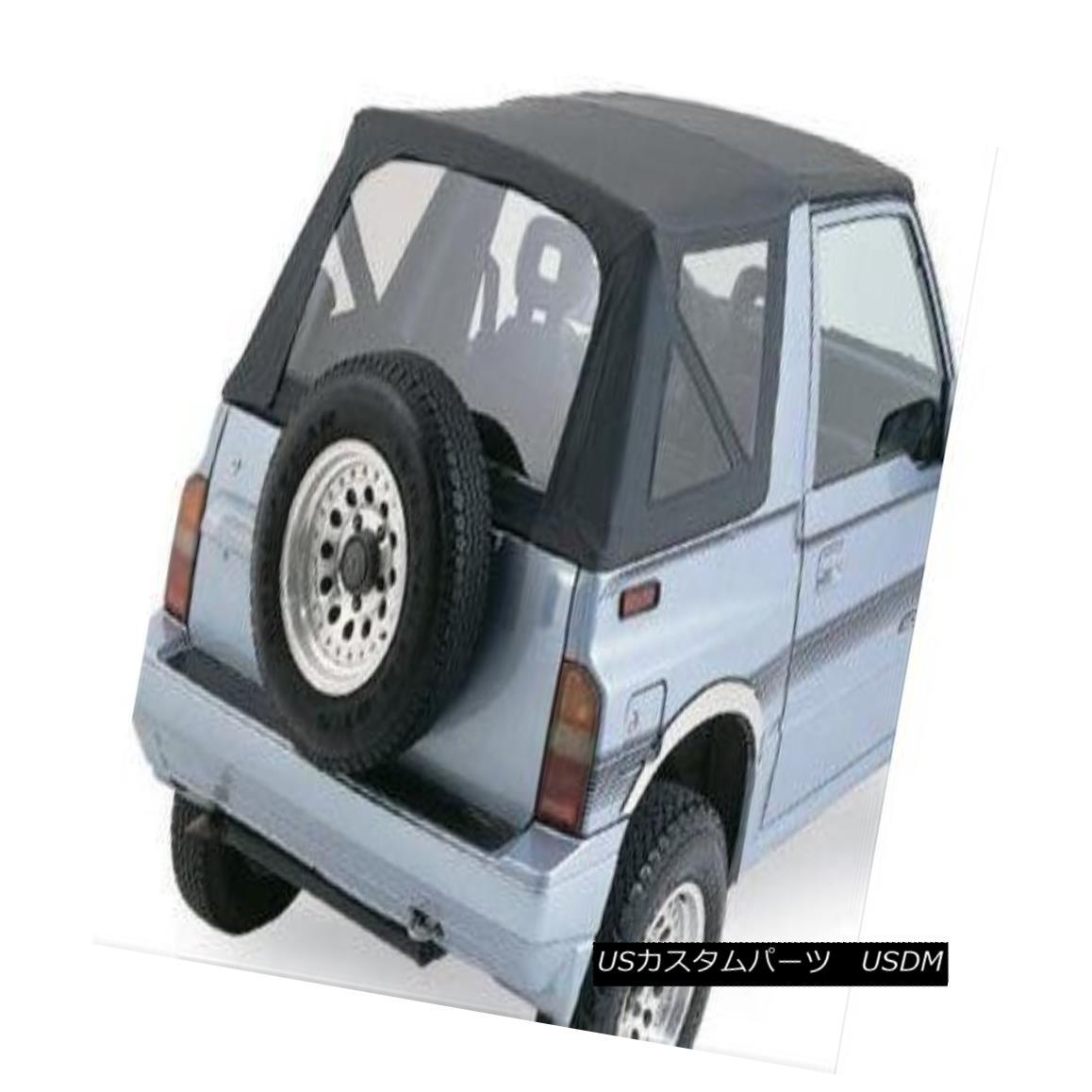幌・ソフトトップ Rampage Soft Top Replacement Top Vinyl Black Diamond Geo Suzuki Each 98835 ランペイジソフトトップ交換トップビニールブラックダイヤモンドGeo Suzuki Each 98835