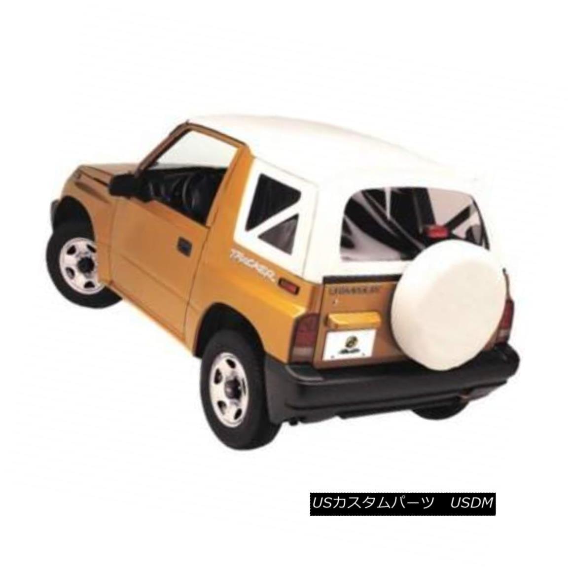 幌・ソフトトップ Bestop New Soft Top White Chevy Geo Tracker Chevrolet Suzuki Sidekick GMC 89-91 ベストトップ新ソフトトップシボレージオトラッカーシボレースズキサイドキックGMC 89-91