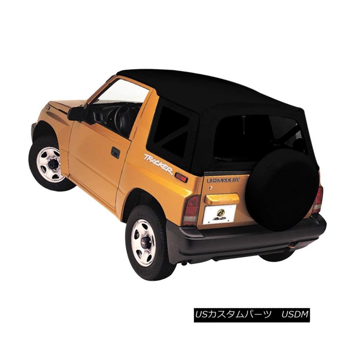 幌・ソフトトップ Bestop New Soft Top Black Suzuki Samurai 1986-1995 Bestop新ソフトトップブラック鈴木侍1986-1995
