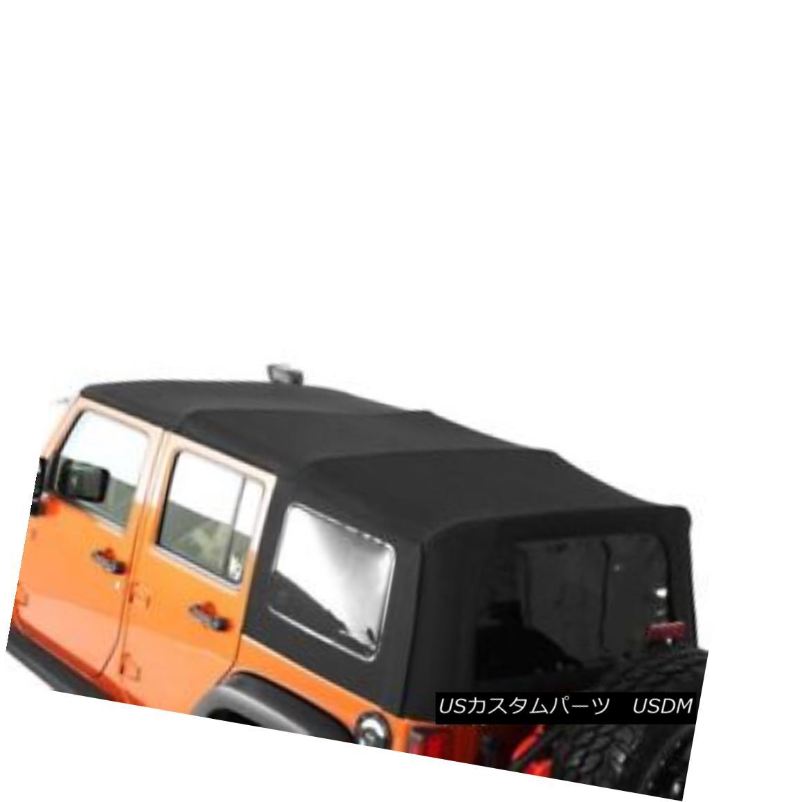 幌・ソフトトップ Smittybilt 9086235 - Premium OEM Replacement Canvas Soft Top with Tinted Windows Smittybilt 9086235 - プレミアムOEM交換キャンバスソフトトップ - 着色Windows