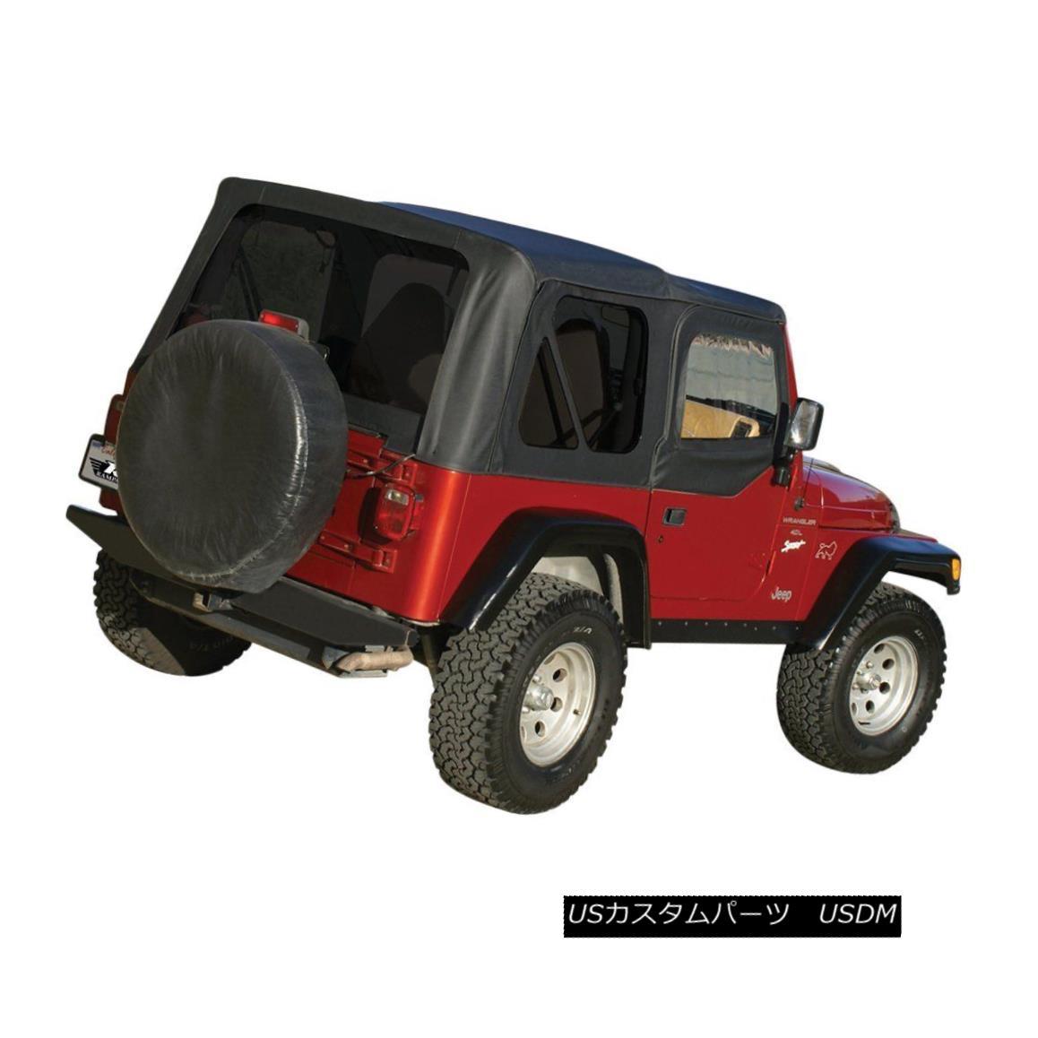幌・ソフトトップ Rampage 99515 Soft Top For 97-2006 Jeep Wrangler (TJ) Rampage 99515 Soft Top for 97-2006ジープ・ラングラー(TJ)