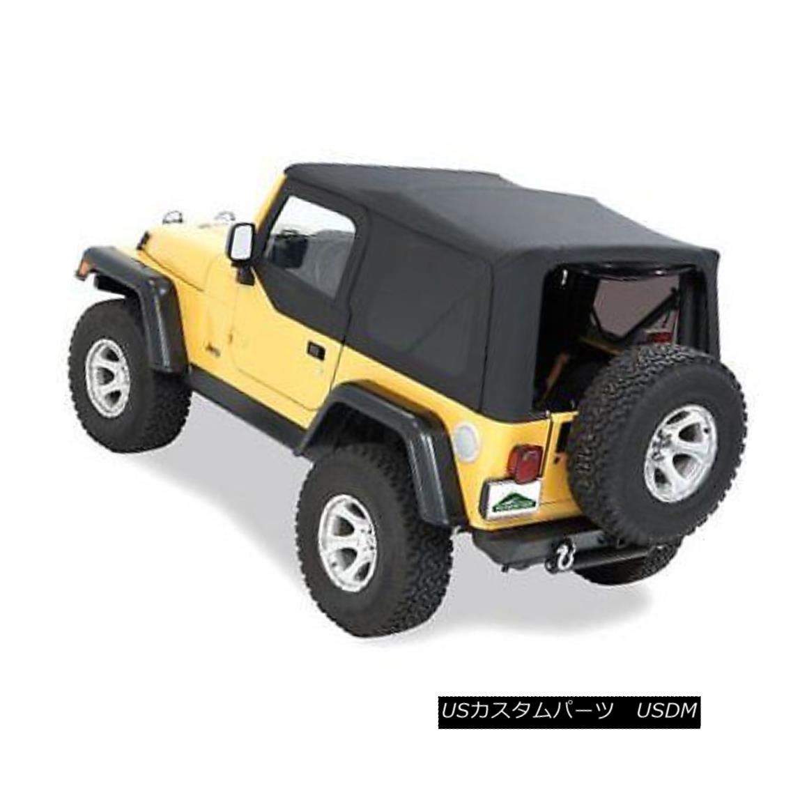 幌・ソフトトップ Pavement Ends 51132-15 Soft Top For 88-95 Jeep Wrangler (YJ) 舗道終了51132-15ソフトトップ88-95ジープラングラー(YJ)