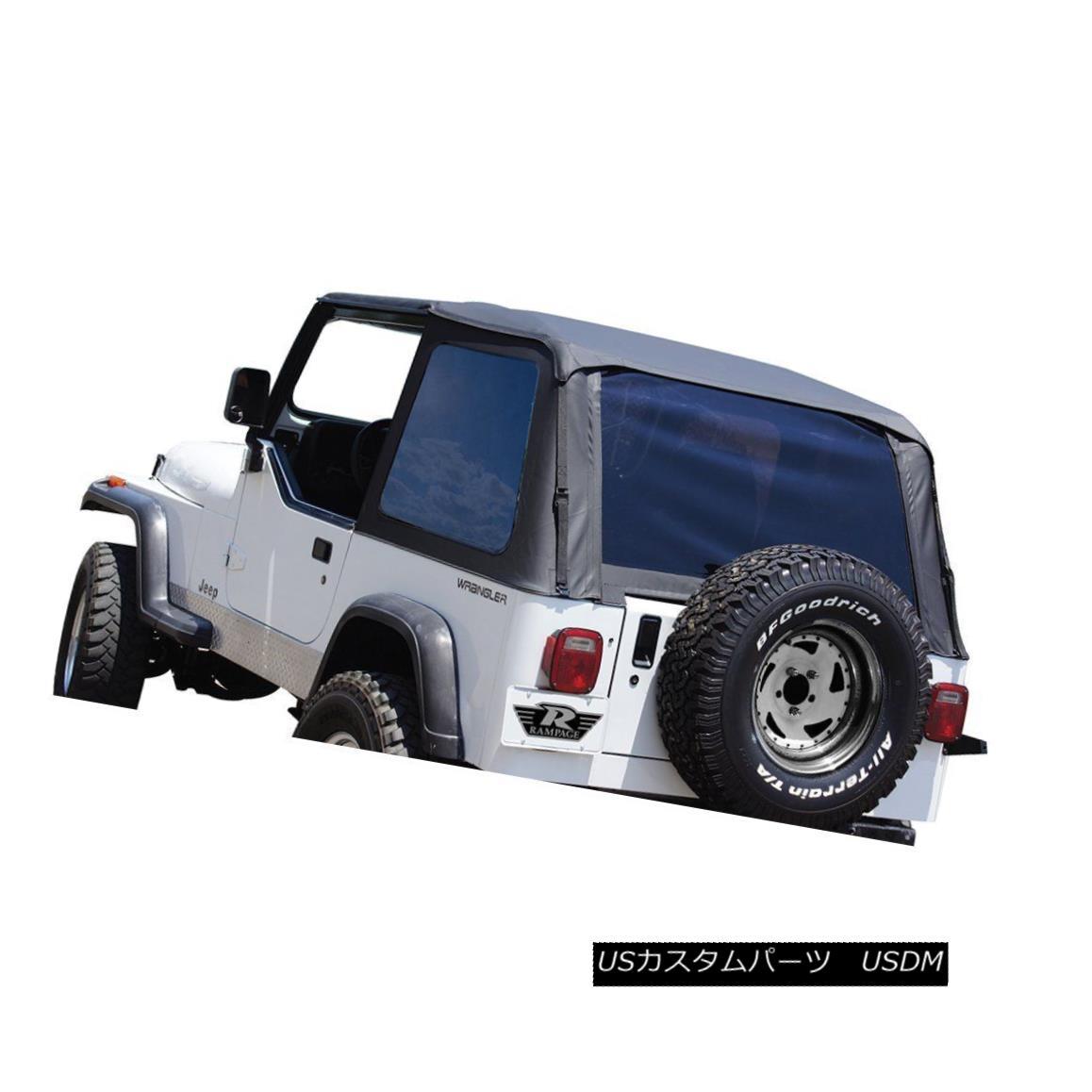幌・ソフトトップ Rampage 109435 Soft Top For 92-95 Jeep Wrangler (YJ) ランペイジ109435ソフトトップ92-95用ジープラングラー(YJ)