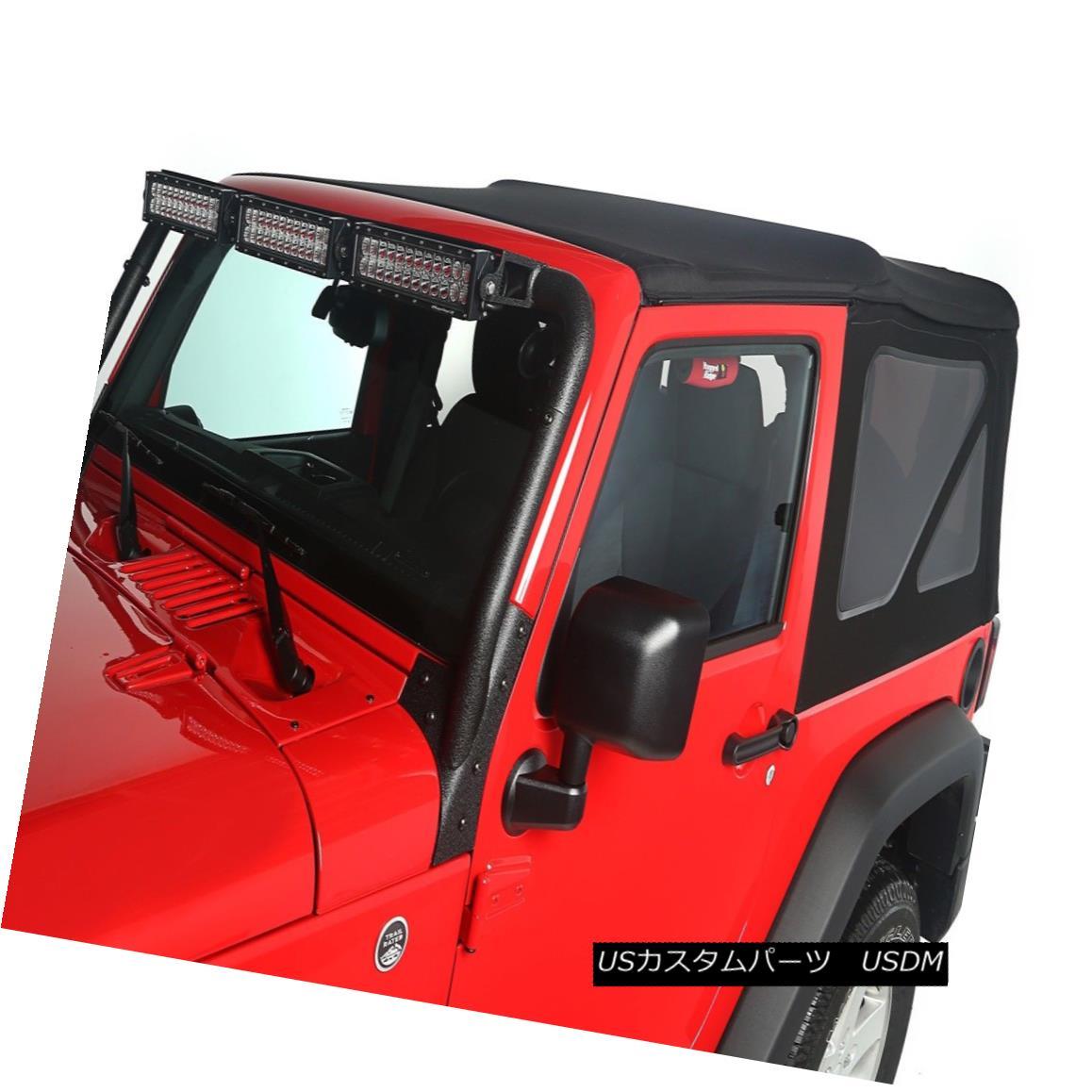 幌・ソフトトップ Soft Top, Black Diamond; 10-16 Jeep Wrangler JK ソフトトップ、ブラックダイヤモンド; ジープ・ラングラーJK