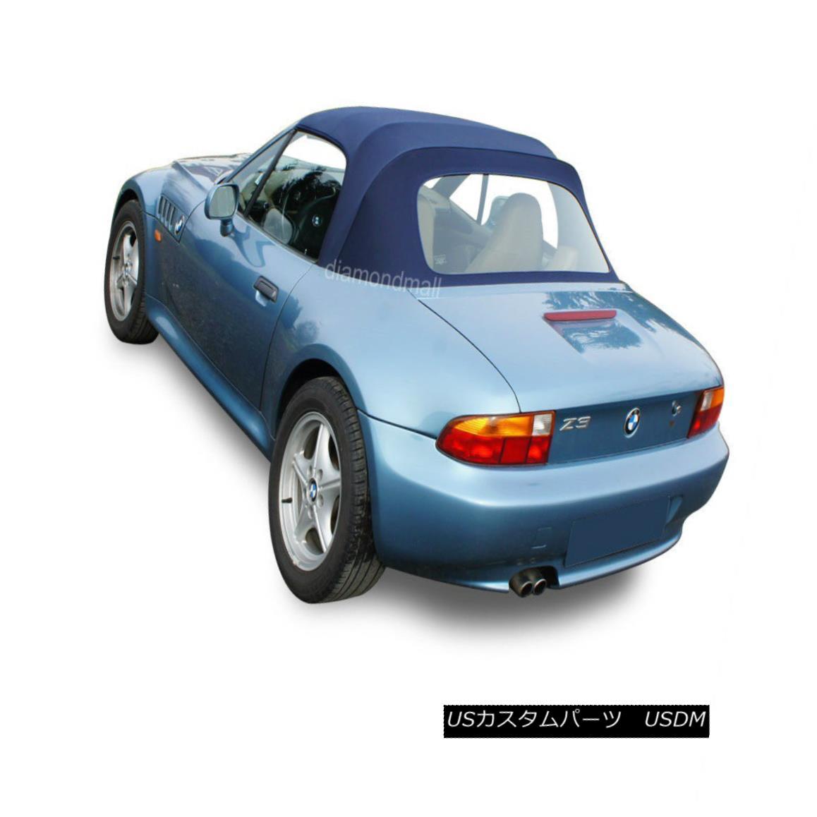 幌・ソフトトップ BMW Z3 1996-2002 Convertible Soft Top & Plastic Window Blue Twillfast II Canvas BMW Z3 1996-2002コンバーチブルソフトトップ& プラスチック製の窓ブルーツイルファーストIIキャンバス