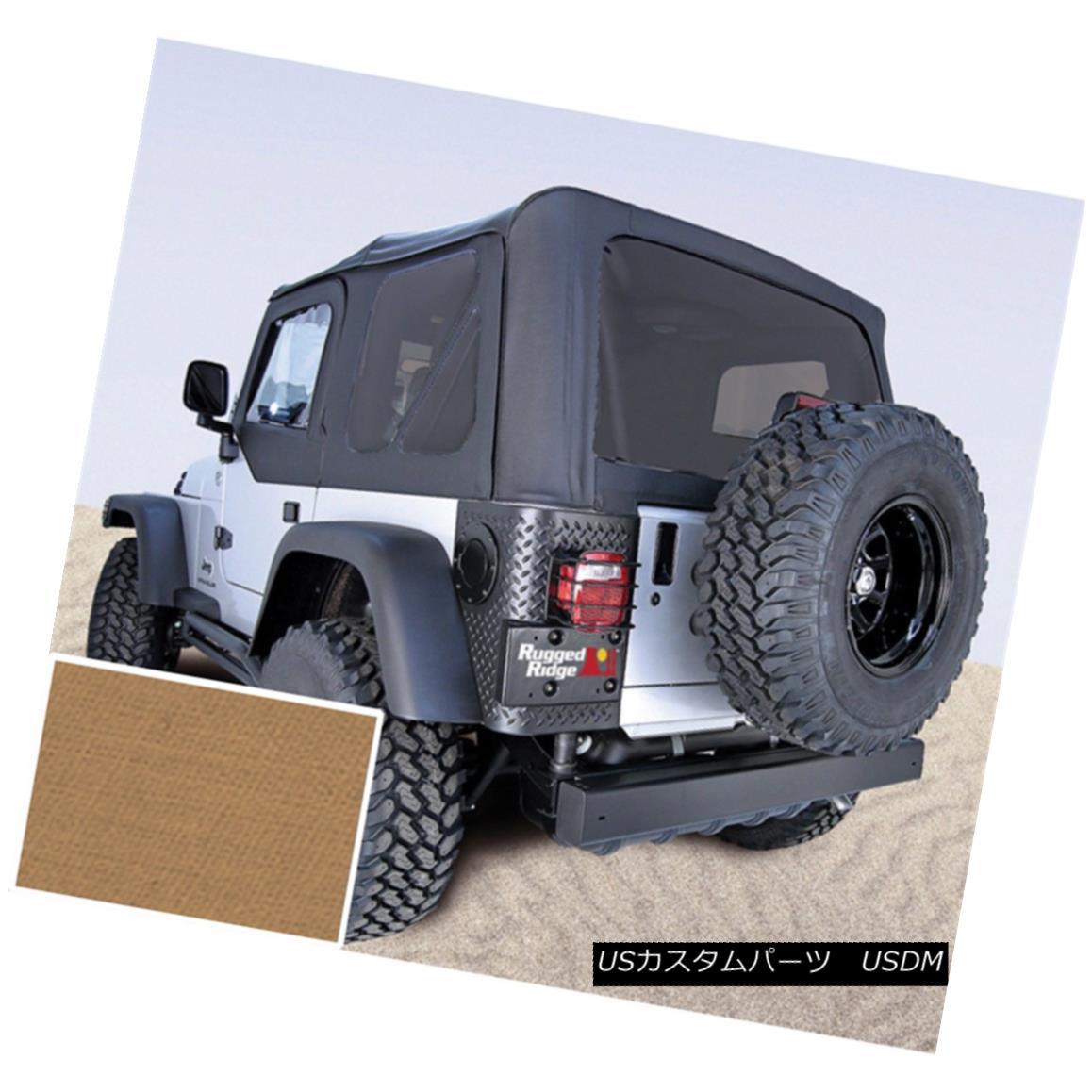 幌・ソフトトップ Soft Top, Spice, Tinted Windows; 97-02 Jeep Wrangler TJ ソフトトップ、スパイス、ティンテッドウィンドウ。 97-02ジープ・ラングラーTJ