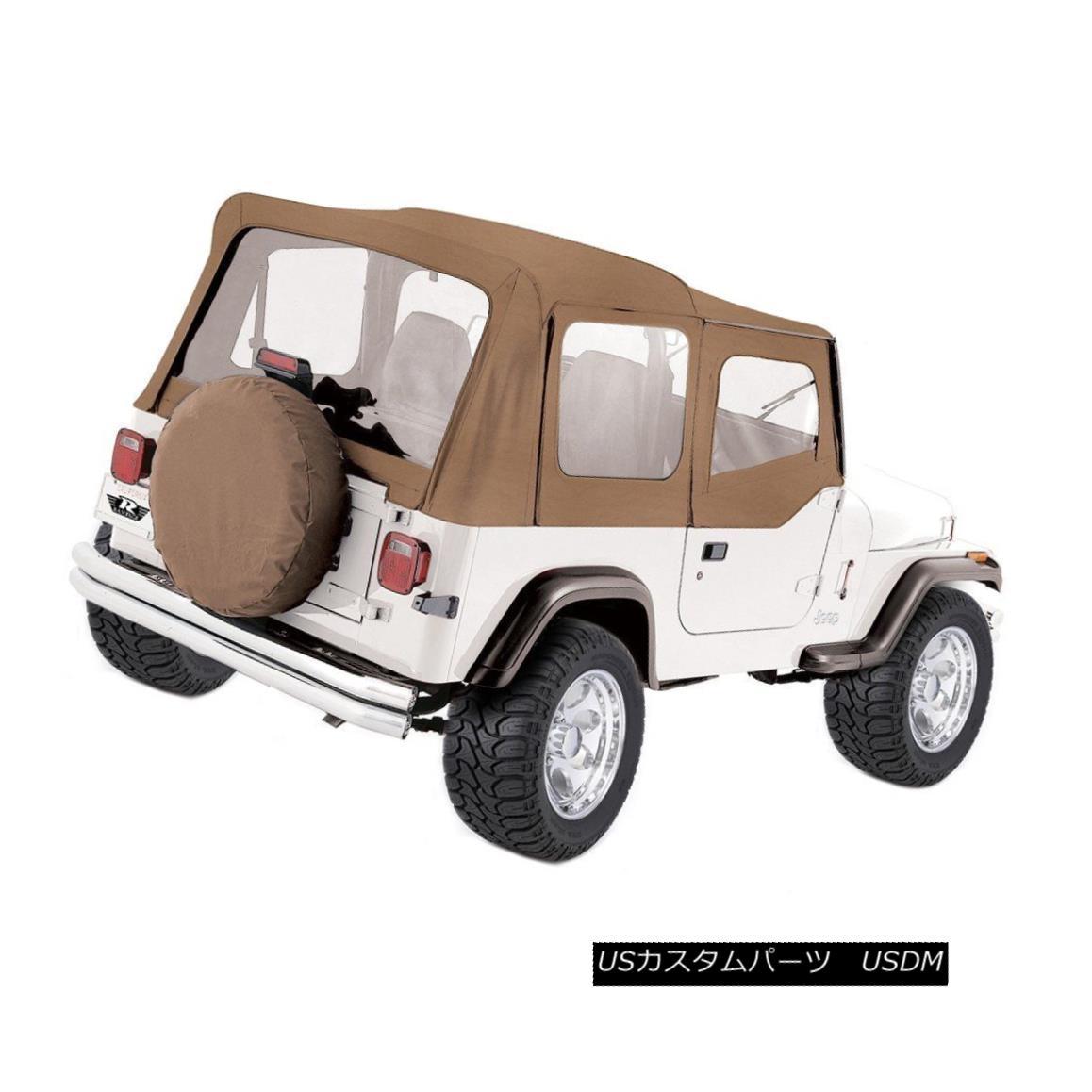 幌・ソフトトップ Rampage 99617 Soft Top For 87-95 Jeep Wrangler (YJ) Rampage 99617ソフトトップ(87-95用)ジープラングラー(YJ)