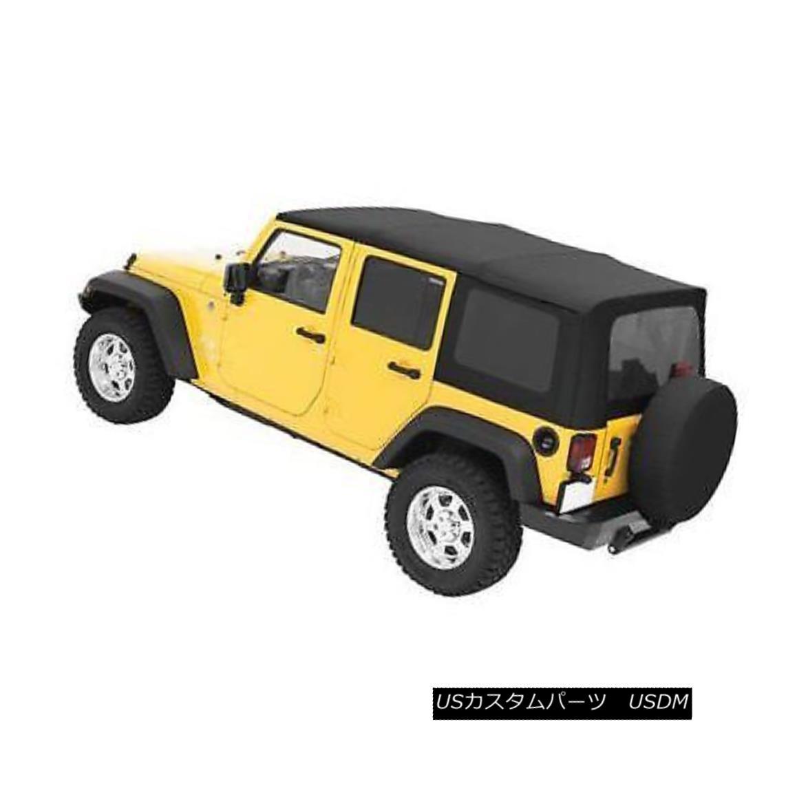 幌・ソフトトップ 4WD Pros 51204-35 Soft Top For 2010-2013 Jeep Wrangler (JK) 4WD Pros 51204-35ソフトトップ2010-2013 Jeep Wrangler(JK)