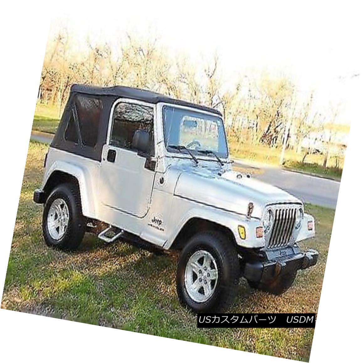 幌・ソフトトップ 97-06 Jeep Wrangler Soft Top with Tinted Windows 97-06ジープラングラーソフトトップ