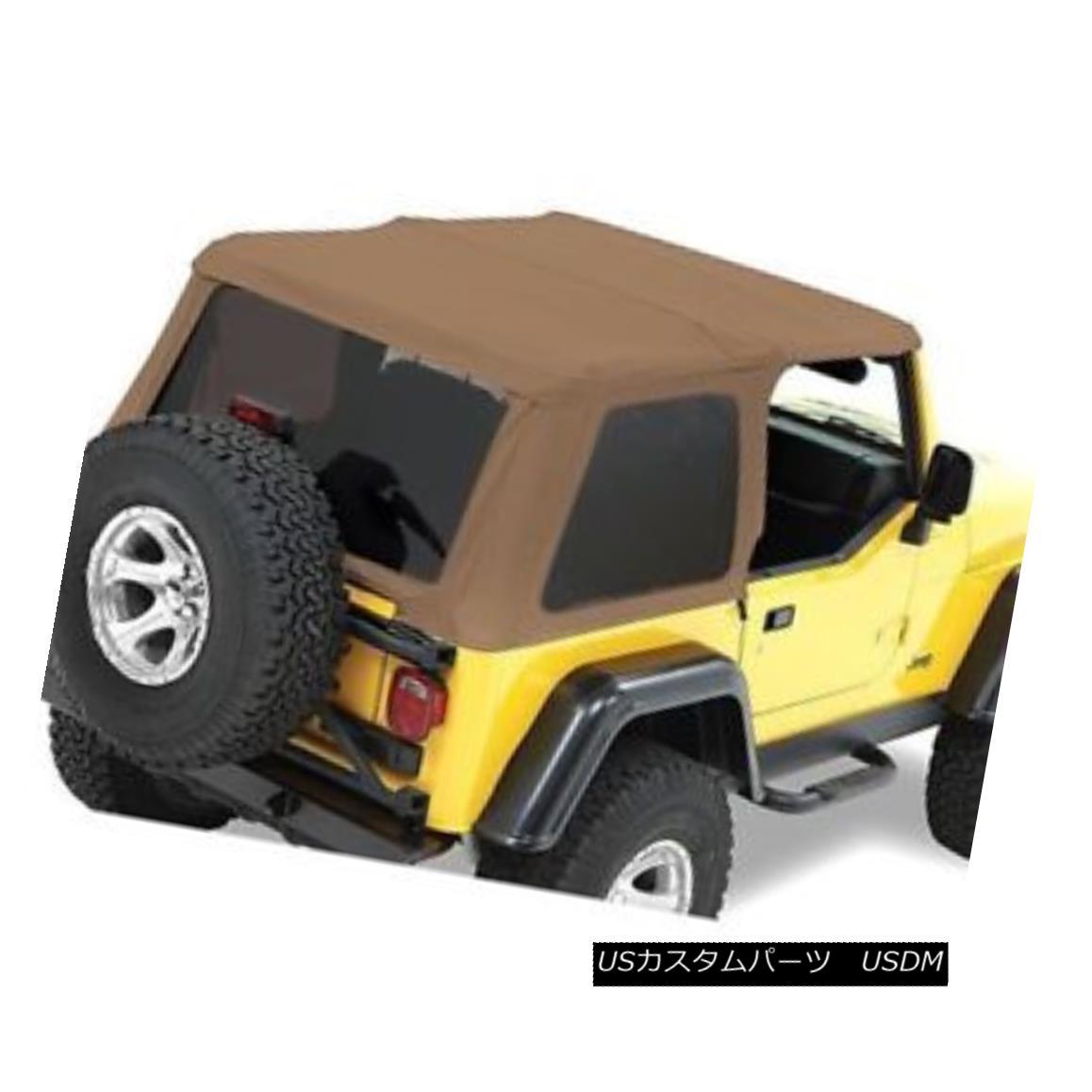 幌・ソフトトップ Bestop 52820-37 Soft Top For 97-2006 Jeep Wrangler (TJ) Bestop 52820-37 Soft Top for 97-2006ジープラングラー(TJ)