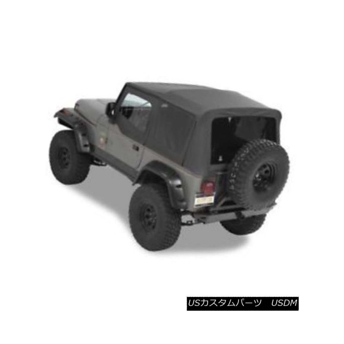 幌・ソフトトップ Bestop 54601-15 Supertop Replacement Soft Top (Black Denim) For 88-95 Wrangler Bestop 54601-15スーパートップ交換用ソフトトップ(ブラックデニム)88-95ラングラー用