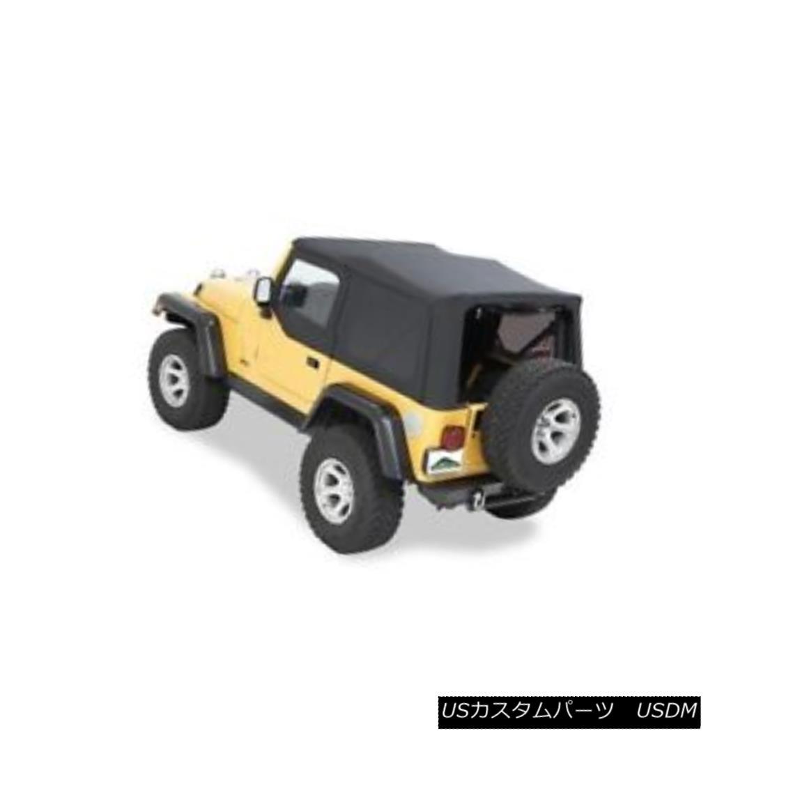 幌・ソフトトップ Pavement Ends 51198-15 Replay Soft Top Black Denim 1997-2002 Jeep Wrangler 舗装端51198-15リプレイソフトトップブラックデニム1997-2002ジープラングラー