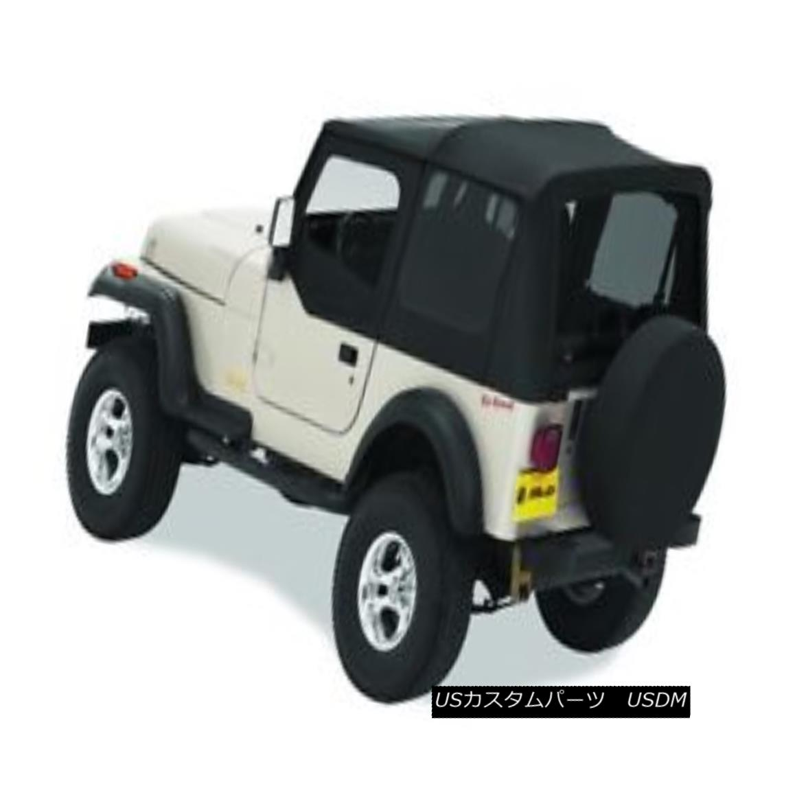 幌・ソフトトップ Bestop 51120-15 Jeep Replace-a-Top Soft Top Black Denim Bestop 51120-15 Jeep Replace-a-Topソフトトップブラックデニム
