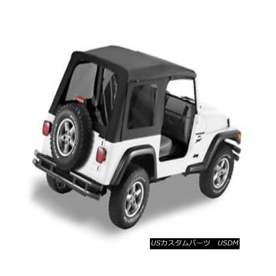 幌・ソフトトップ Bestop 51180-15 Jeep Replace-a-Top Soft Top Black Denim Bestop 51180-15 Jeep Replace-a-Topソフトトップブラックデニム