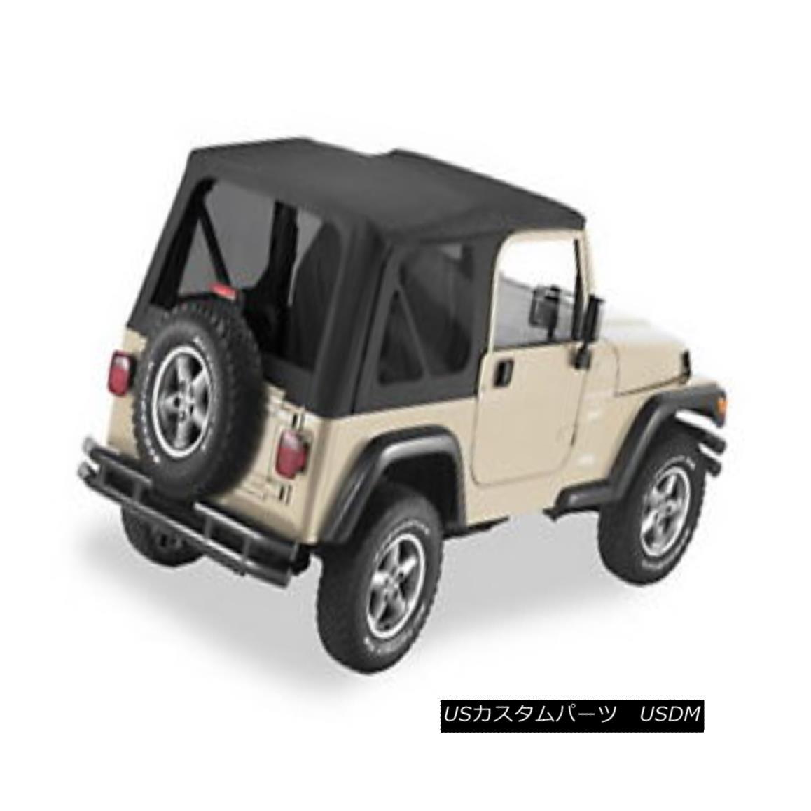 幌・ソフトトップ Pavement Ends 51148-35 Replay Soft Top Black Diamond 1997-2006 Jeep Wrangler 舗装終了51148-35リプレイソフトトップブラックダイヤモンド1997-2006ジープラングラー