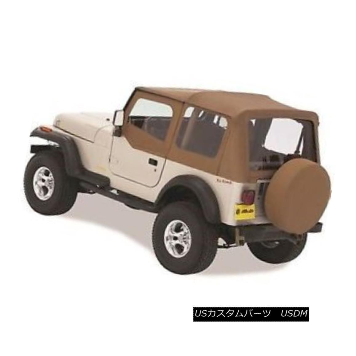 幌・ソフトトップ Bestop 51120-37 Replace A Top Soft Top Spice for 1988-1995 Jeep Wrangler Bestop 51120-37トップソフトトップスパイスを1988-1995ジープラングラーに交換