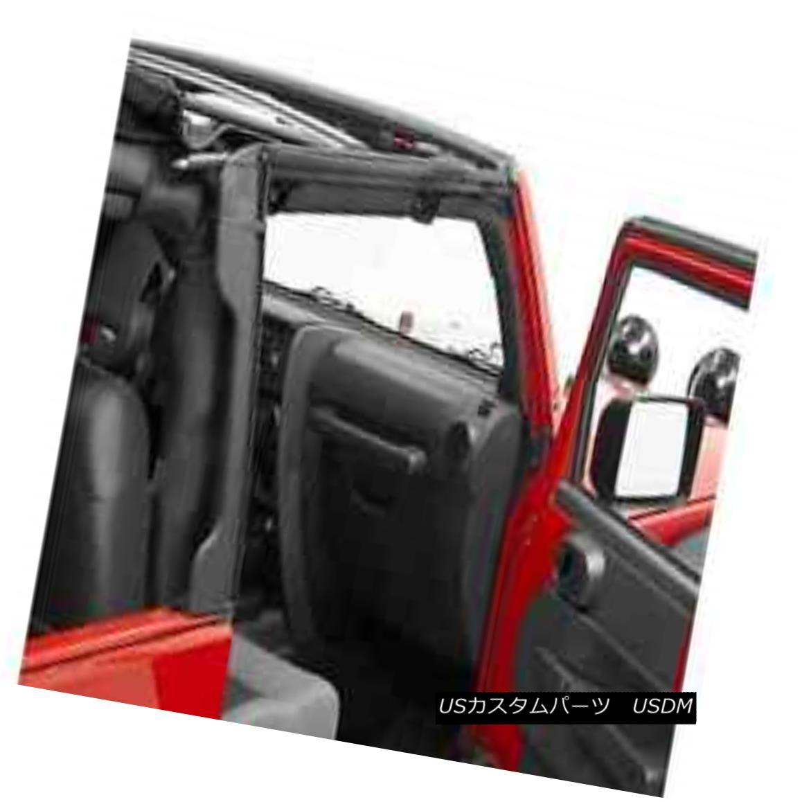 幌・ソフトトップ 2010-2017 Jeep Wrangler Bestop Soft Top Door Surround & Rear Window Bar Kit 2010-2017 Jeep Wrangler Bestopソフトトップドアサラウンド& リアウィンドウバーキット