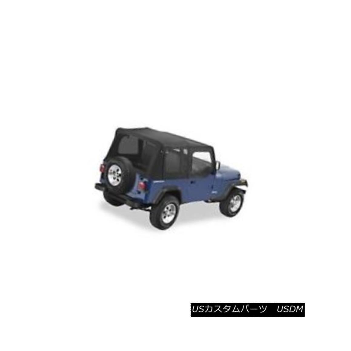 幌・ソフトトップ Pavement Ends 51132-15 Replay Soft Top Black Denim 1988-1993 Jeep Wrangler 舗装端51132-15リプレイソフトトップブラックデニム1988-1993 Jeep Wrangler
