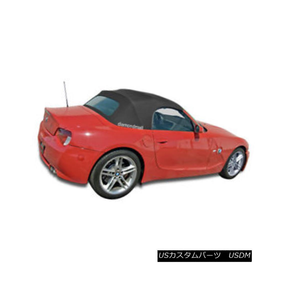 幌・ソフトトップ BMW Z4 2003-2008 Convertible Soft Top Replacement & Glass Window Black Twill BMW Z4 2003-2008コンバーチブルソフトトップ交換& ガラス窓ブラックツイル