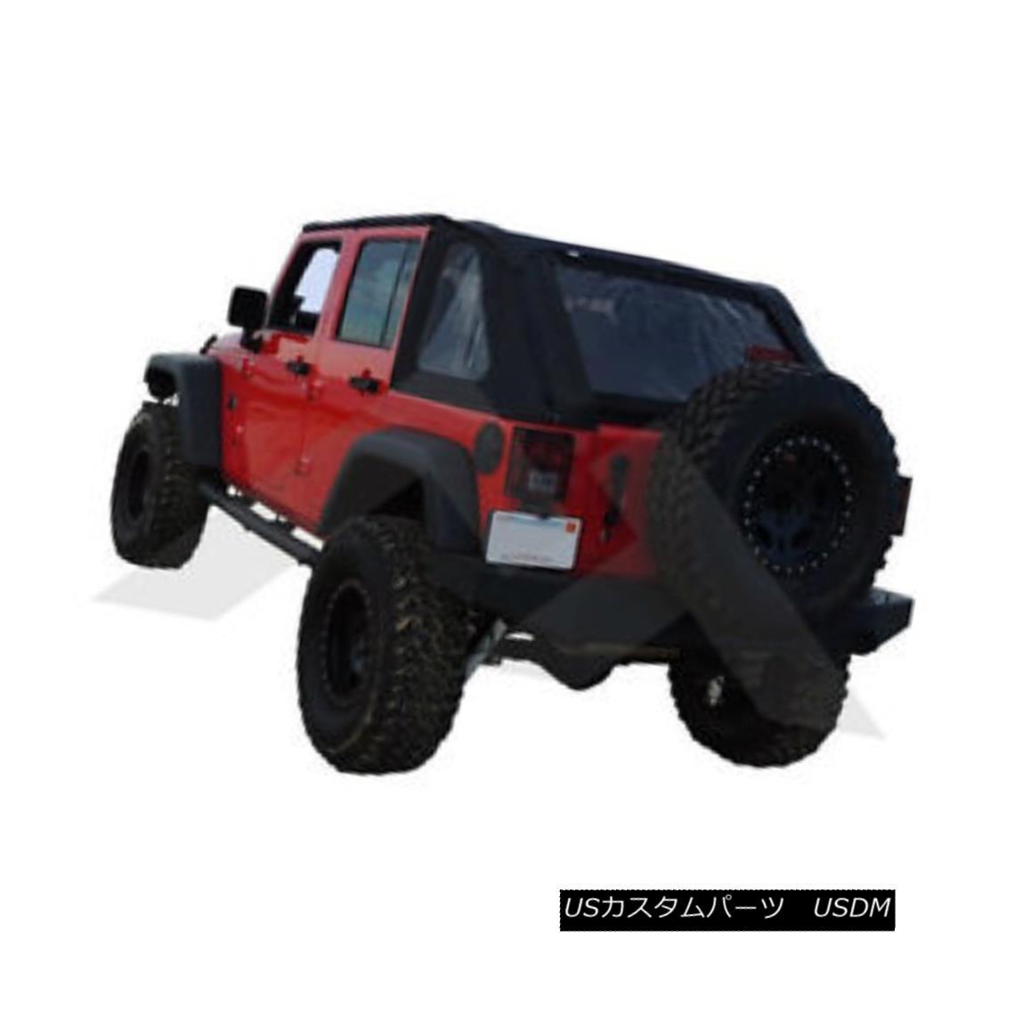 幌・ソフトトップ Bowless Soft Top Black Diamond Jeep Wrangler JK 2007-2016 BRT20135T ボウレスソフトトップブラックダイヤモンドジープラングラーJK 2007-2016 BRT20135T