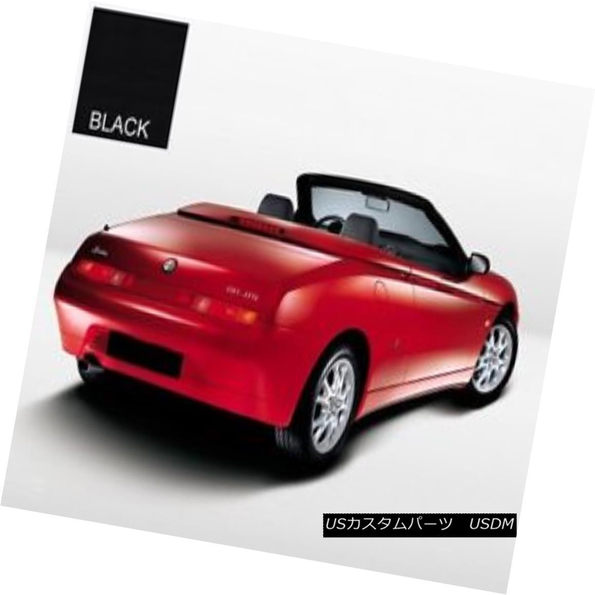 幌・ソフトトップ Alfa Romeo GTV Spider convertible Soft Top Replacement 1995-2003 Black Stayfast Alfa Romeo GTV Spiderコンバーチブルソフトトップ交換1995-2003 Black Stayfast