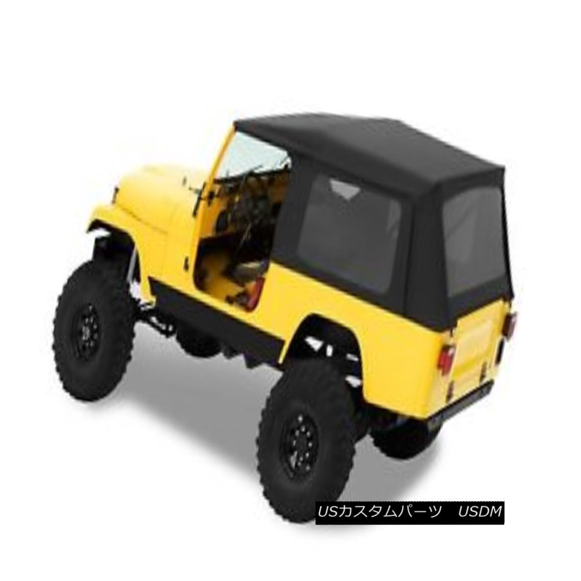 幌・ソフトトップ Bestop 54608-15 Jeep Supertop Classic Replacement Soft Top Black Denim Bestop 54608-15 Jeep Supertopクラシックリプレースソフトトップブラックデニム