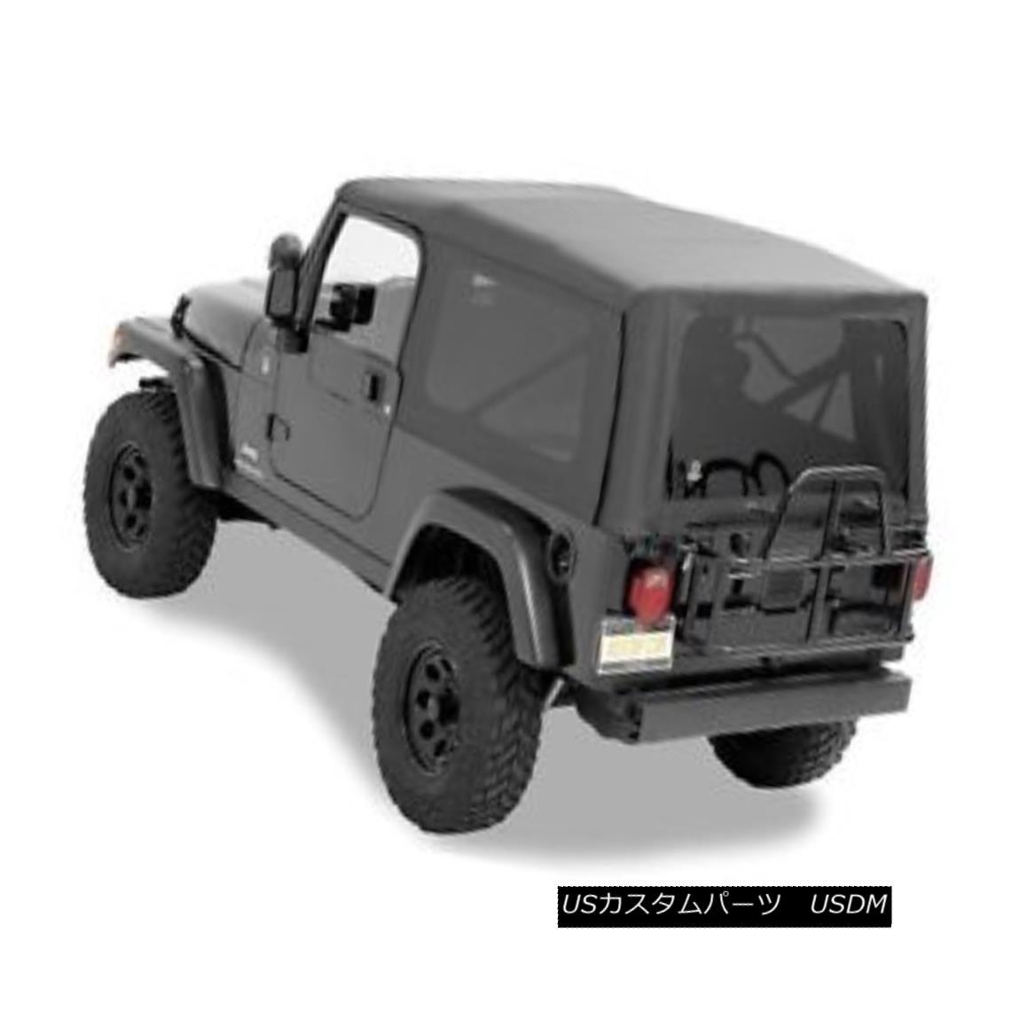 幌・ソフトトップ Bestop Supertop NX Complete Soft Top Black Diamond For Jeep Wrangler #54721-35 Bestop Supertop NX Completeソフトトップブラックダイヤモンドジープラングラー用#54721-35