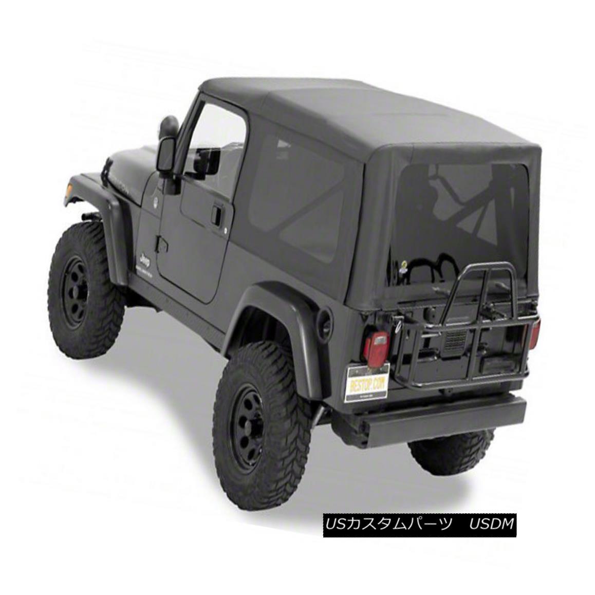 幌・ソフトトップ 2004-2006 Jeep Wrangler Unlimited Supertop NX OEM Soft Top Black 2004-2006ジープラングラー無制限Supertop NX OEMソフトトップブラック