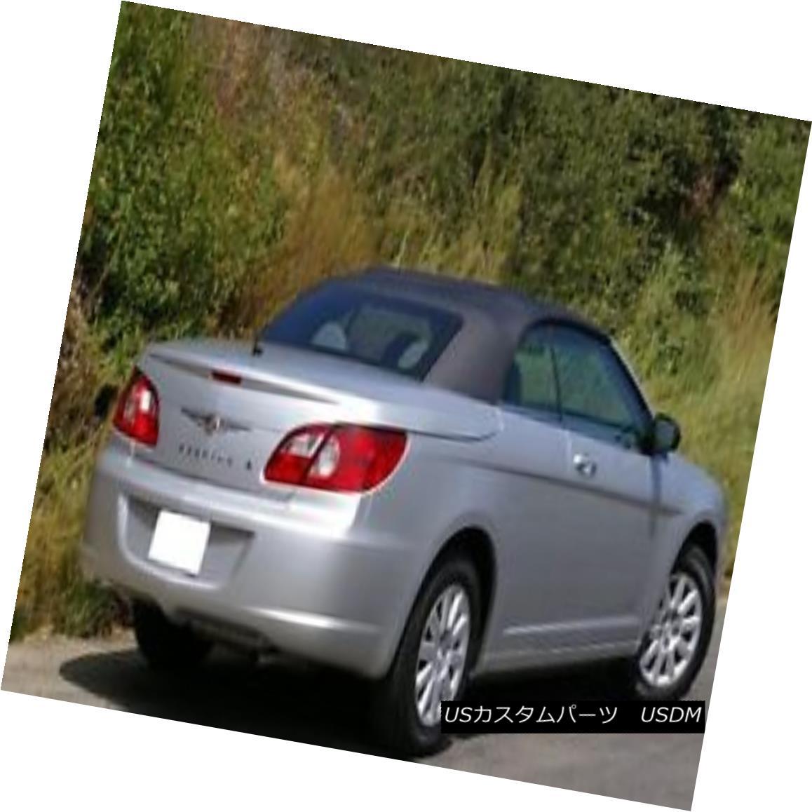 幌・ソフトトップ 2007-2011 NEW Chrysler Sebring Convertible Soft Top Replacement 2007-2011 NEWクライスラーセブリングコンバーチブルソフトトップ交換