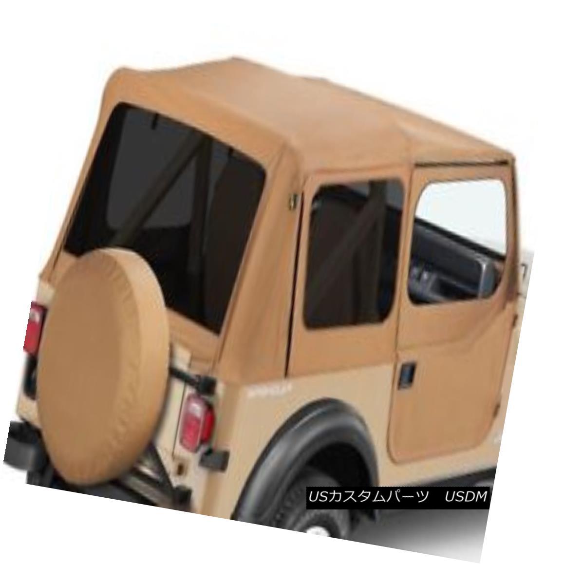 幌・ソフトトップ Bestop 51123-37 - Replace-a-Top Soft Top w Door Skins Bestop 51123-37 - 交換用トップソフトトップドアスキン