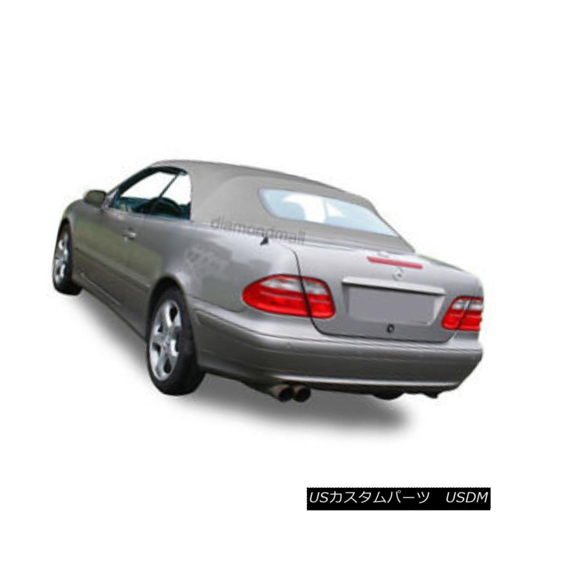 幌・ソフトトップ Mercedes Benz W208 CLK Series 1999-2003 Convertible Soft Top Orion Gray German メルセデスベンツW208 CLKシリーズ1999-2003コンバーチブルソフトトップOrion Grayドイツ語
