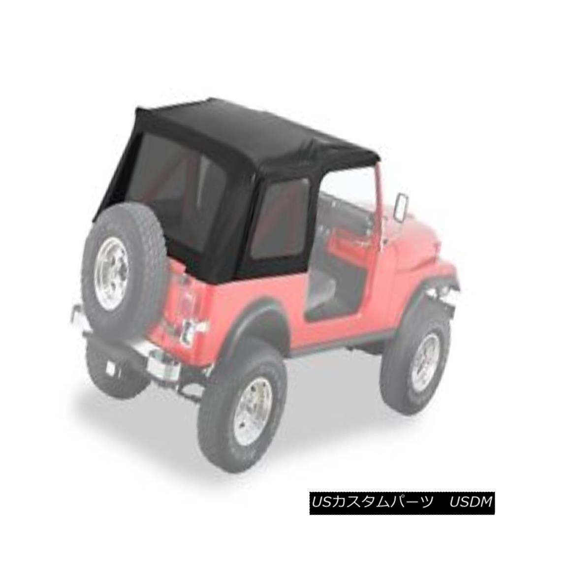 幌・ソフトトップ Bestop 54599-15 Jeep Supertop Classic Replacement Soft Top Black Denim Bestop 54599-15 Jeep Supertop Classic交換用ソフトトップブラックデニム