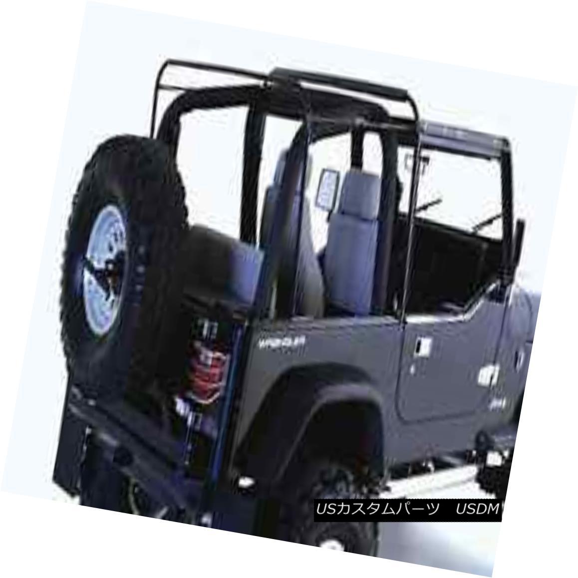 幌・ソフトトップ Rampage 69999 Replacement Soft Top Bow & Hardware for 87-95 Jeep Wrangler ランページュ69999交換用ソフトトップボウ& 87-95ジープラングラーのハードウェア
