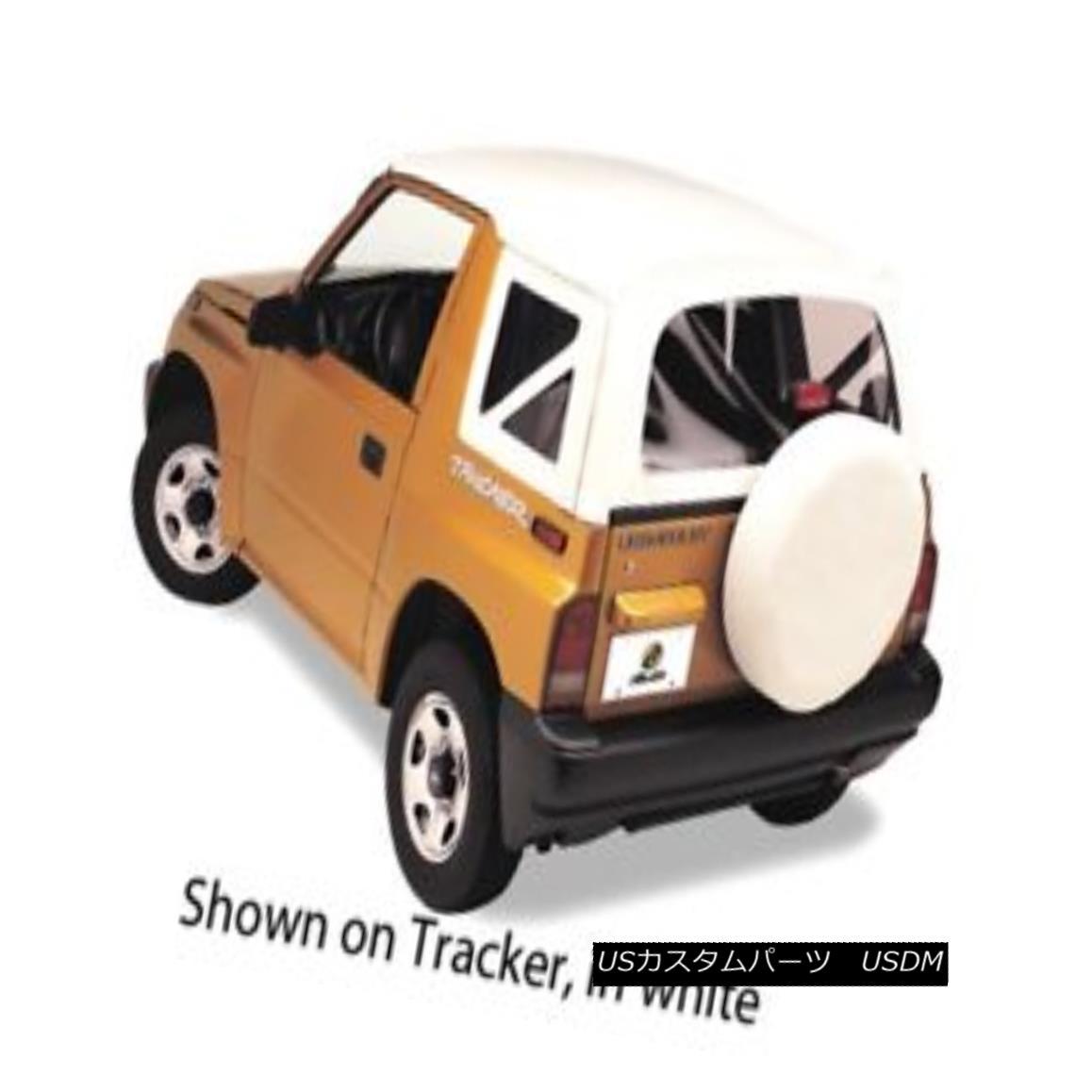 幌・ソフトトップ Bestop 51362-52 Tracker/Sidekick Replace-a-Top Soft Top White Denim ベスト51362-52トラッカー/サイドキー ck交換トップソフトトップデニム